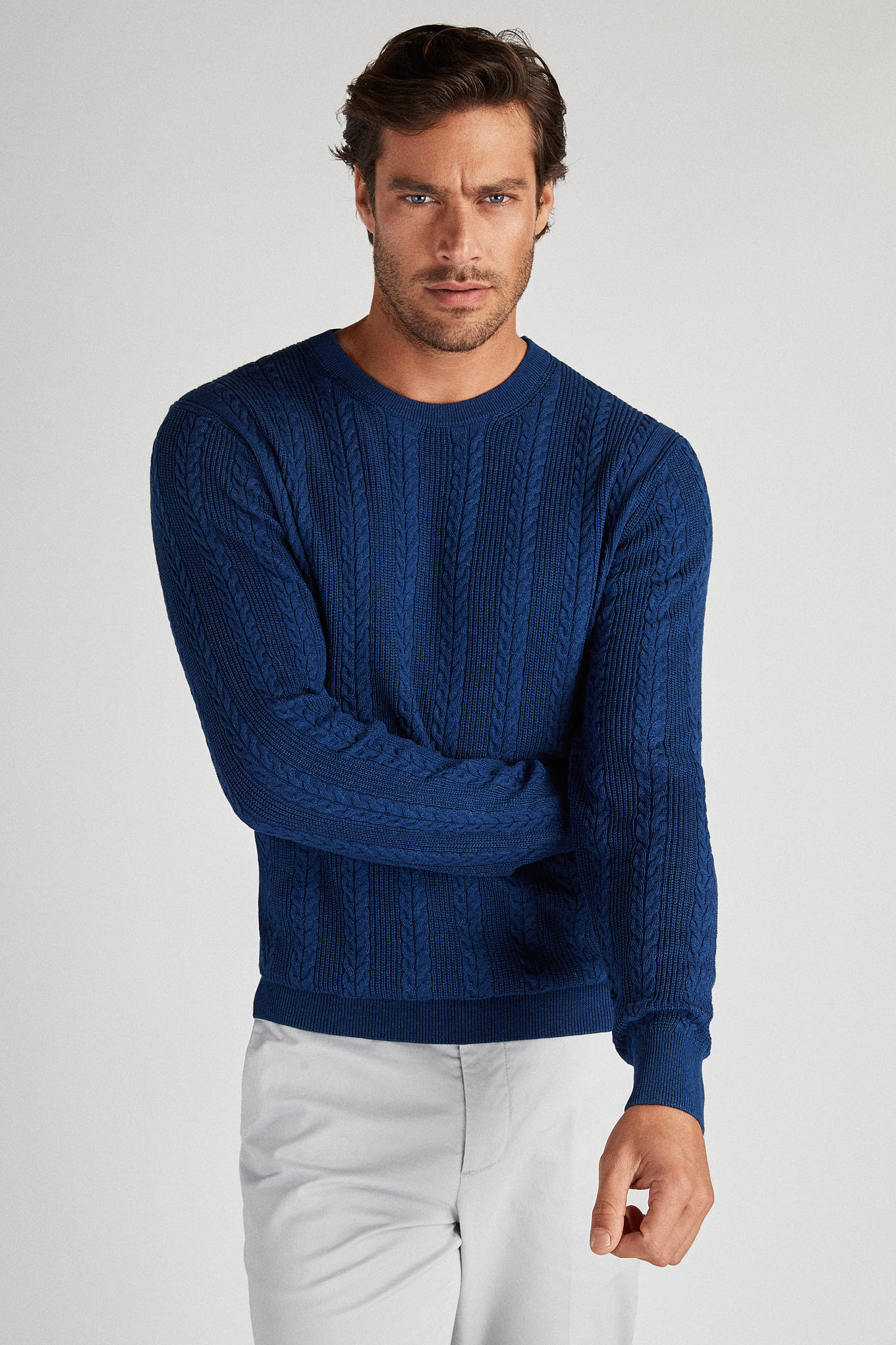 Sweater Indigo Casual Man