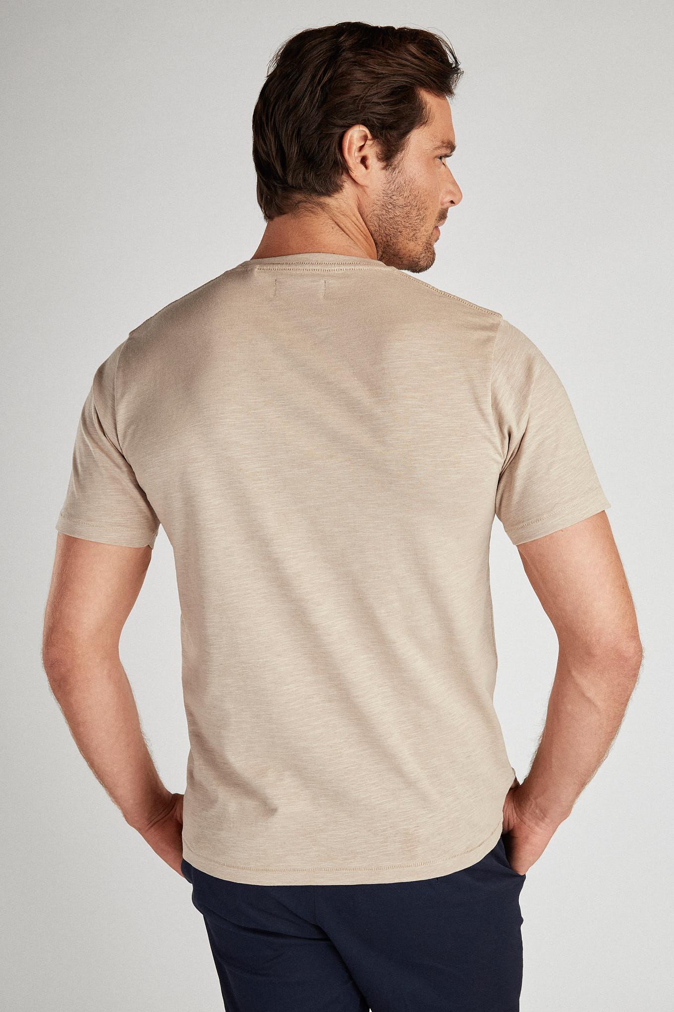 T-Shirt Dark Beige Sport Man