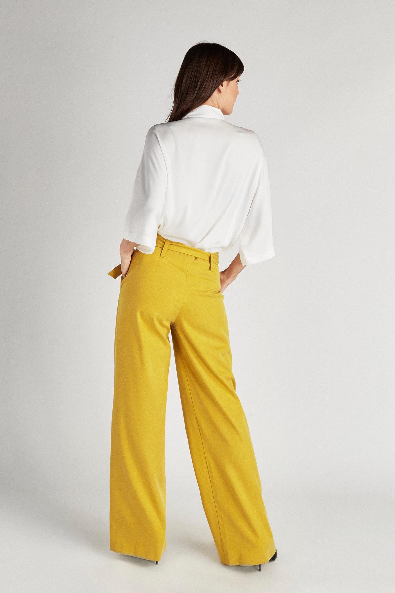 Trousers Yellow Fantasy Woman