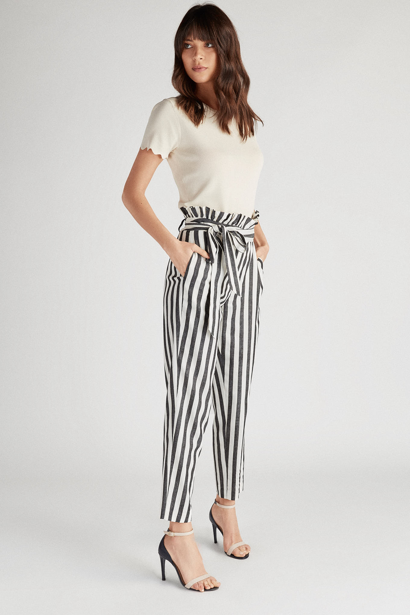 Trousers Stripes Fantasy Woman