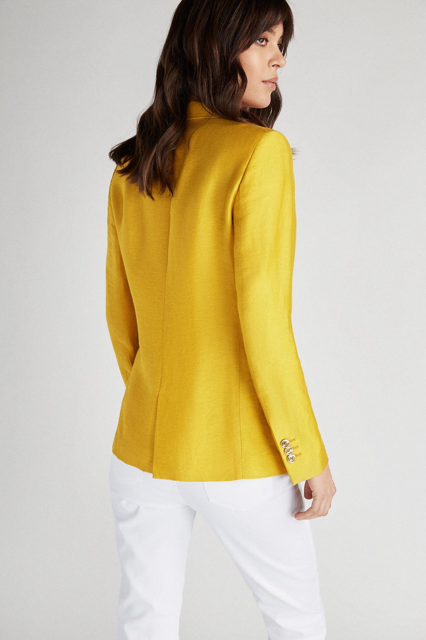 Blazer Amarelo Classic Mulher