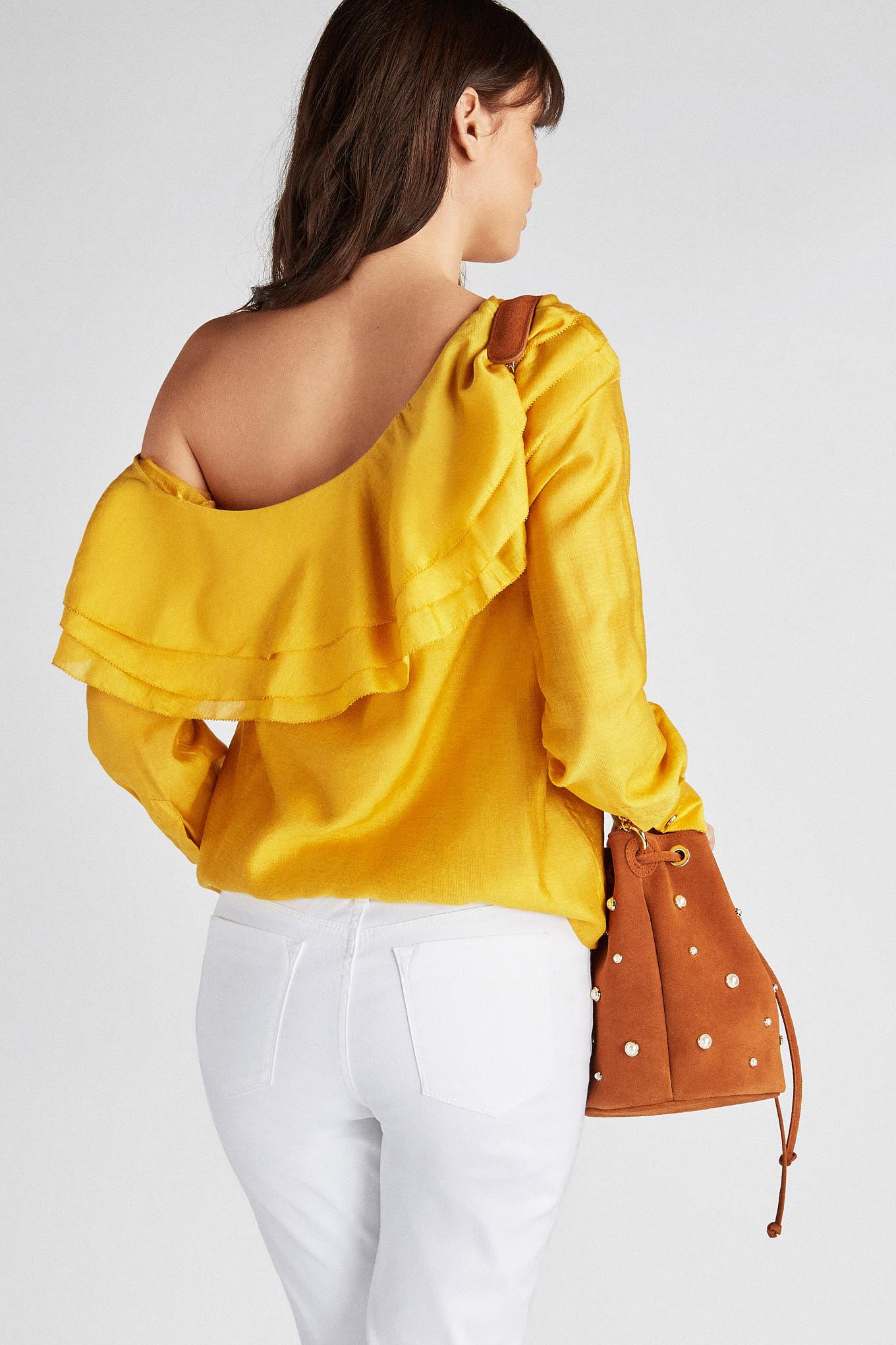 Blusa Amarelo Fantasy Mulher