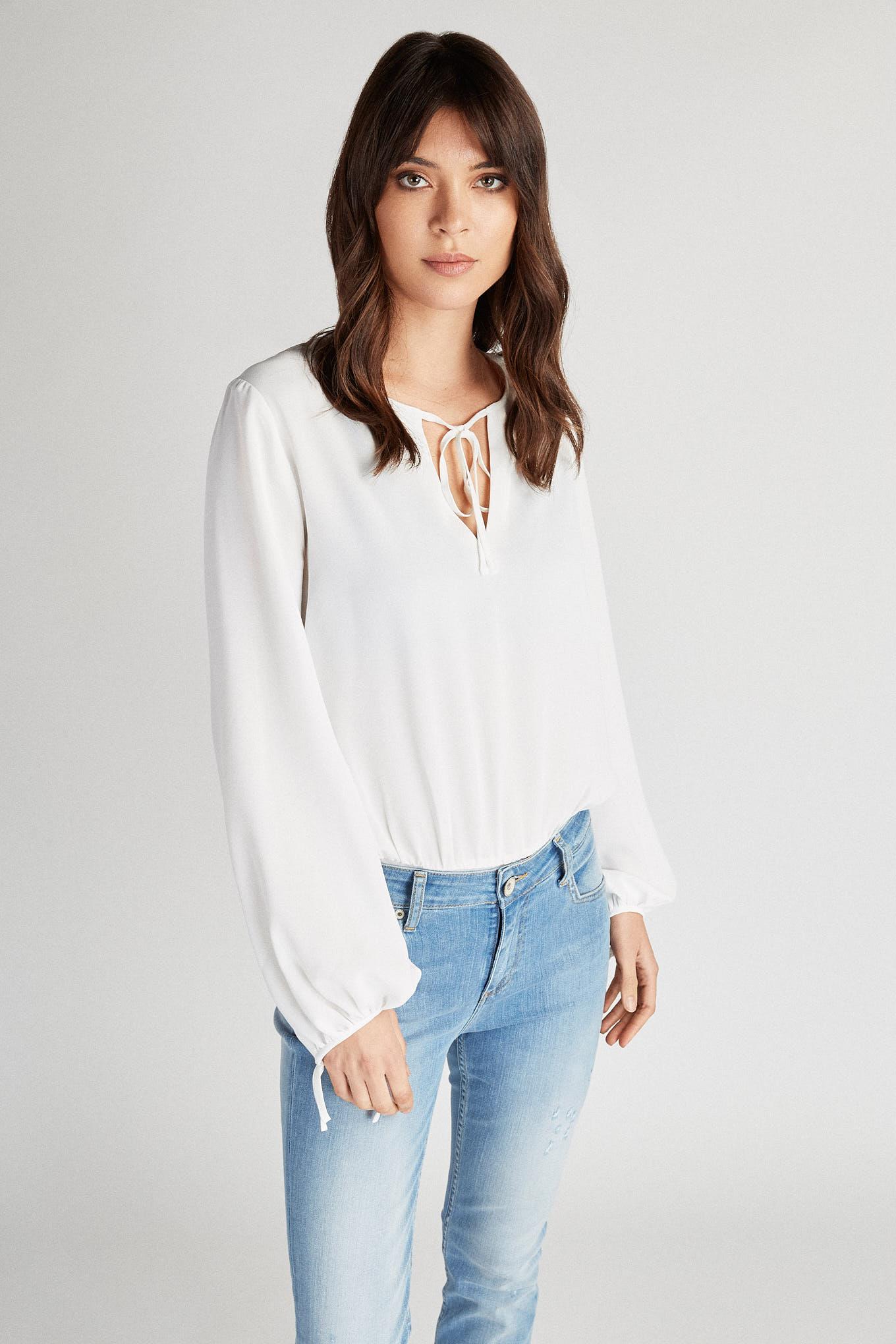 Blusa Branco Fantasy Mulher