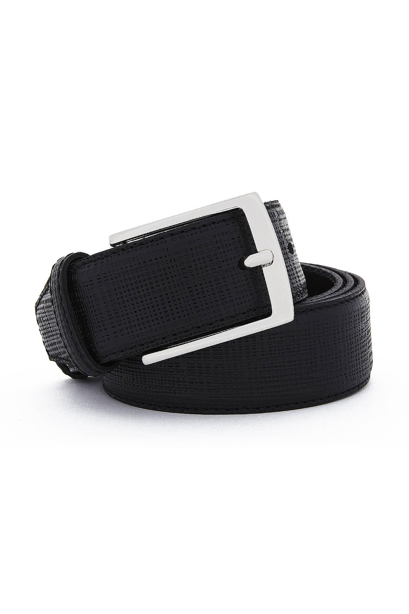 Belt Black Casual Man