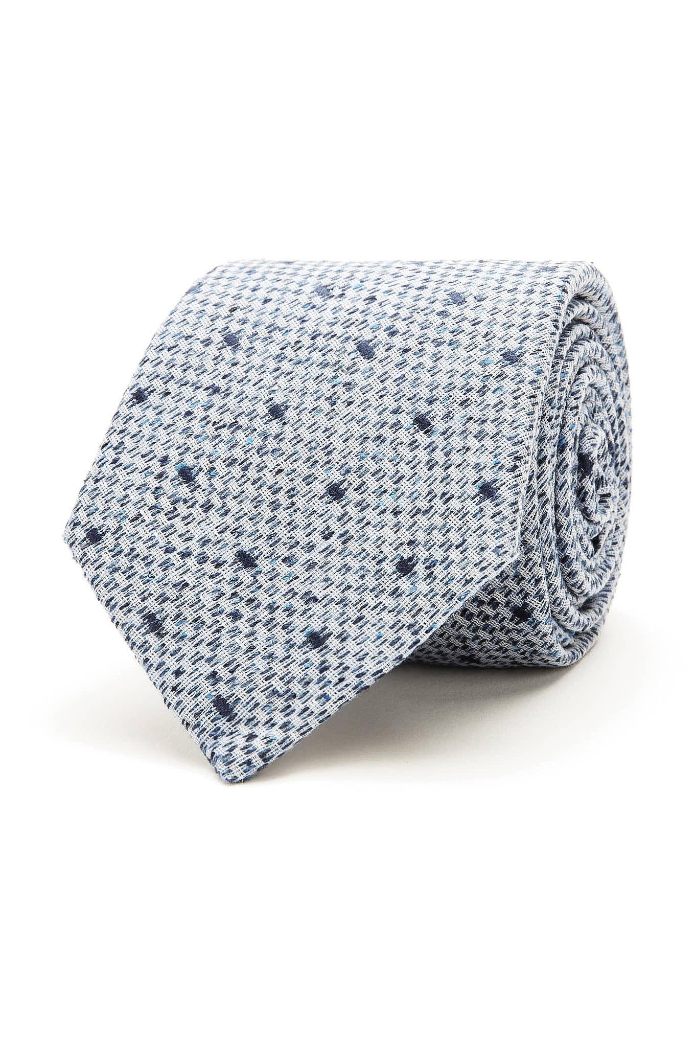 Gravata Azul Claro Classic Homem