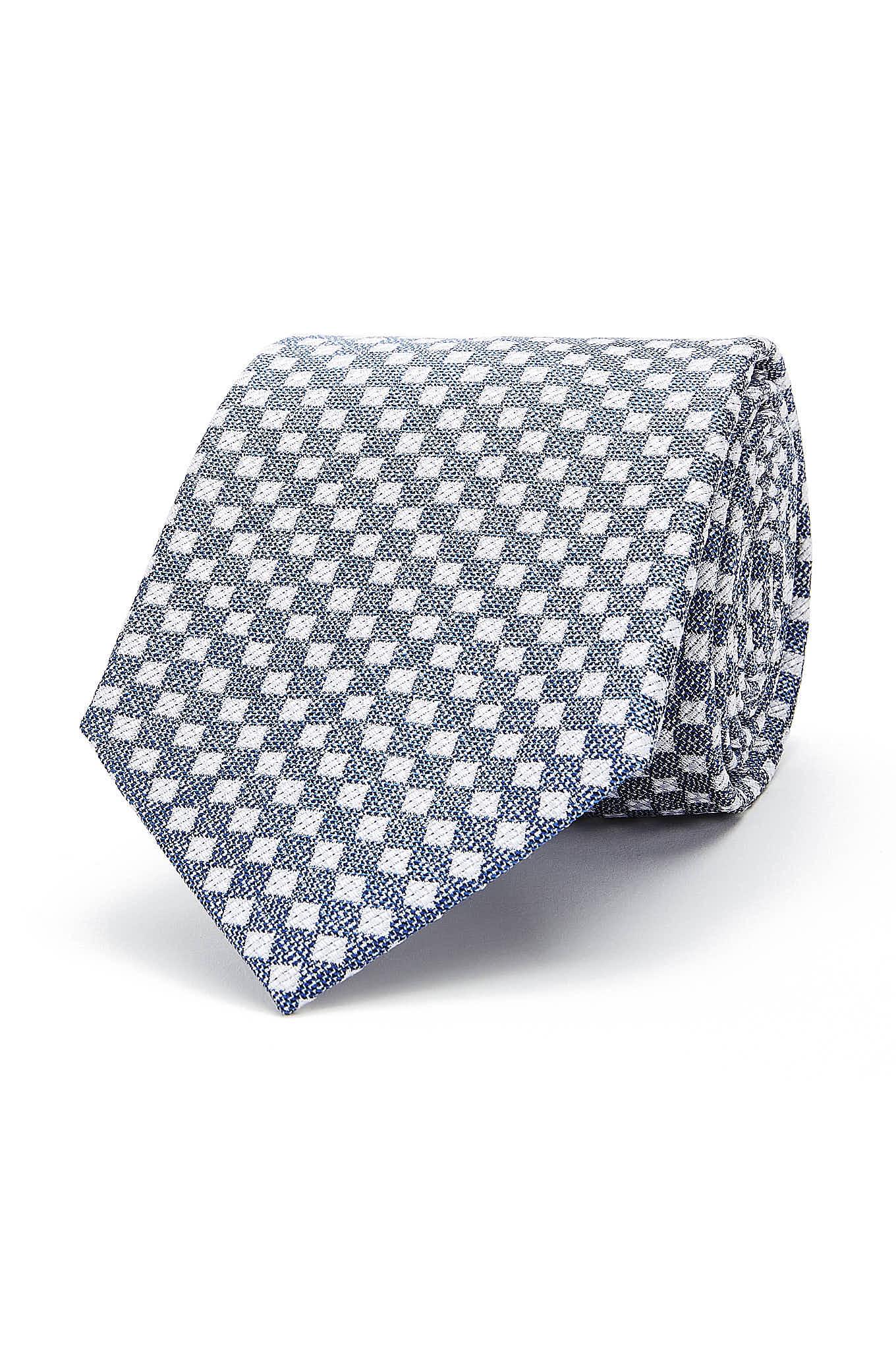 Gravata Azul Classic Homem