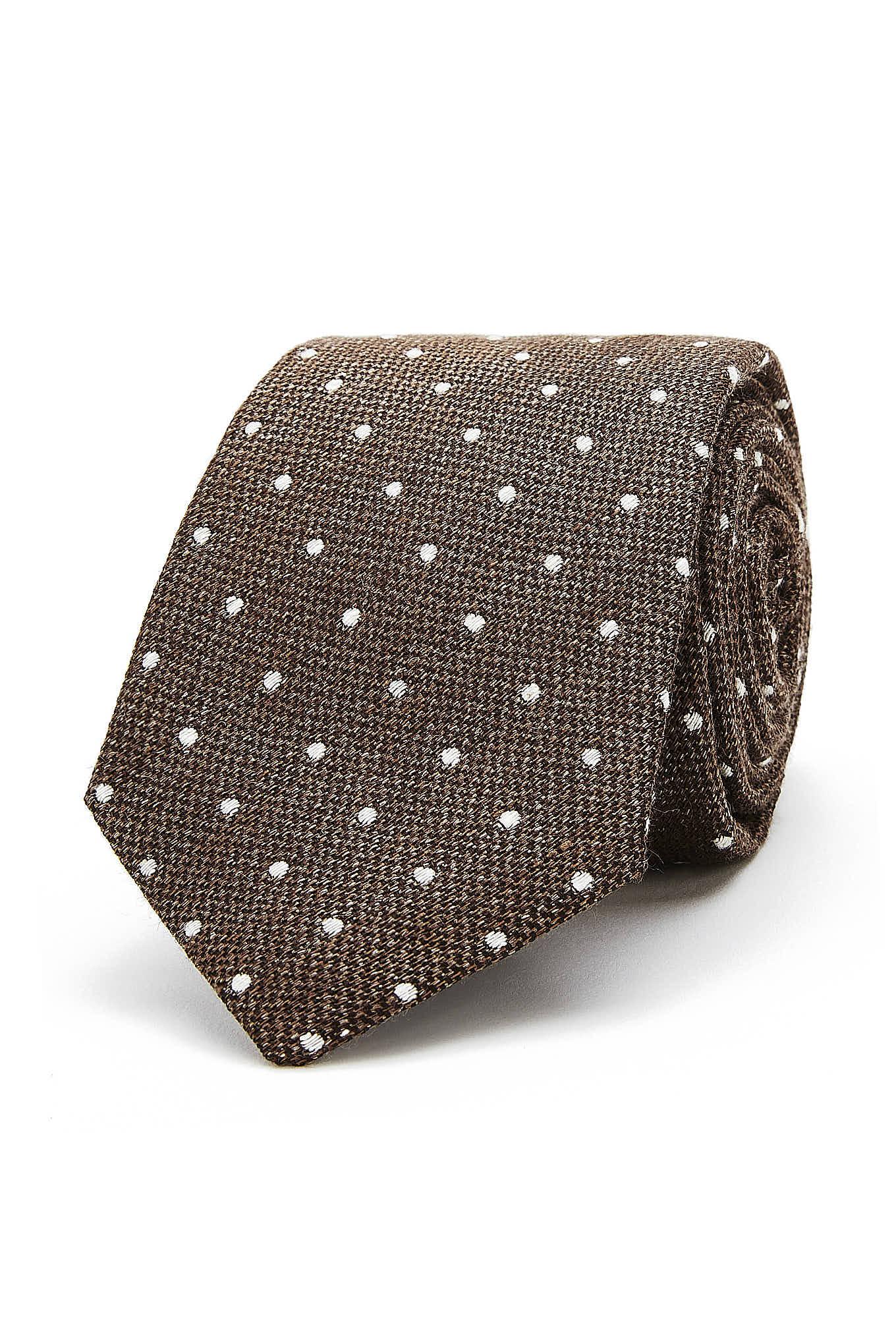 Tie Brown Classic Man