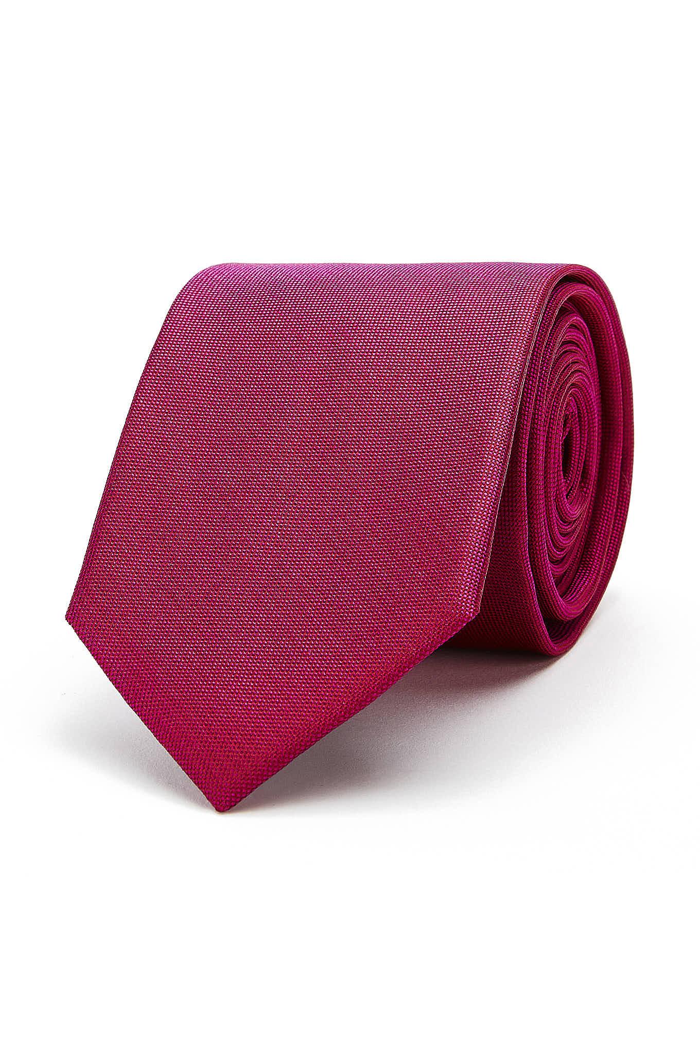 Gravata Rosa Choque Classic Homem