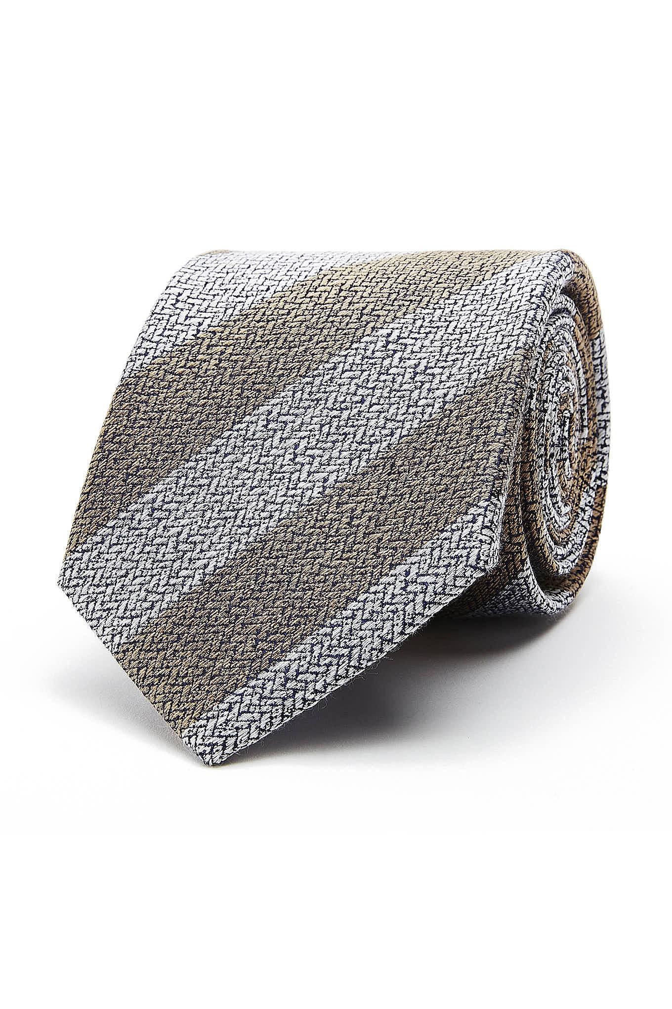 Tie Dark Beige Classic Man