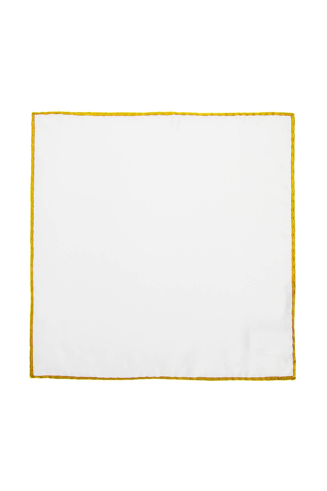 Handkerchief Yellow Classic Man