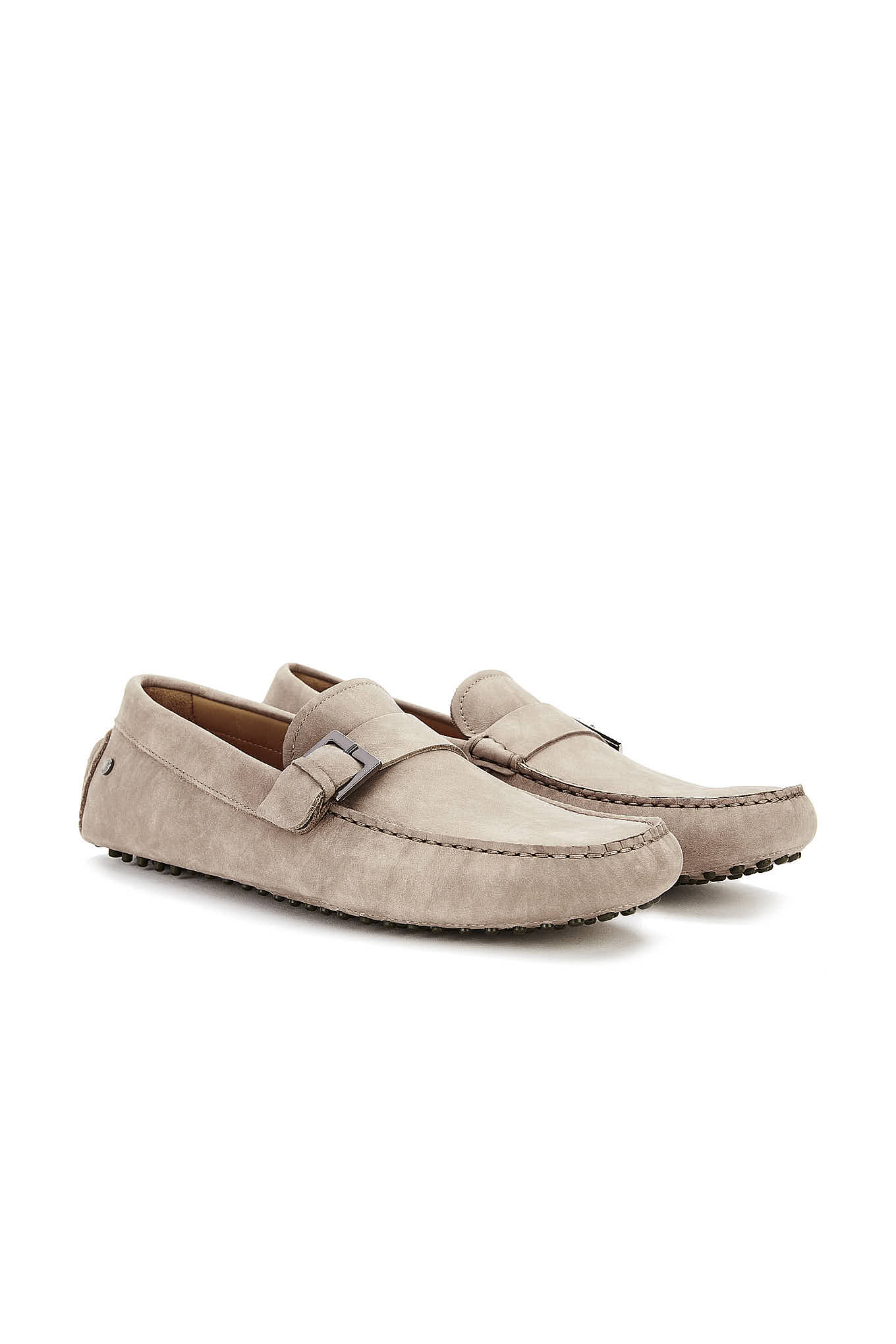 Drivers Beige Casual Man