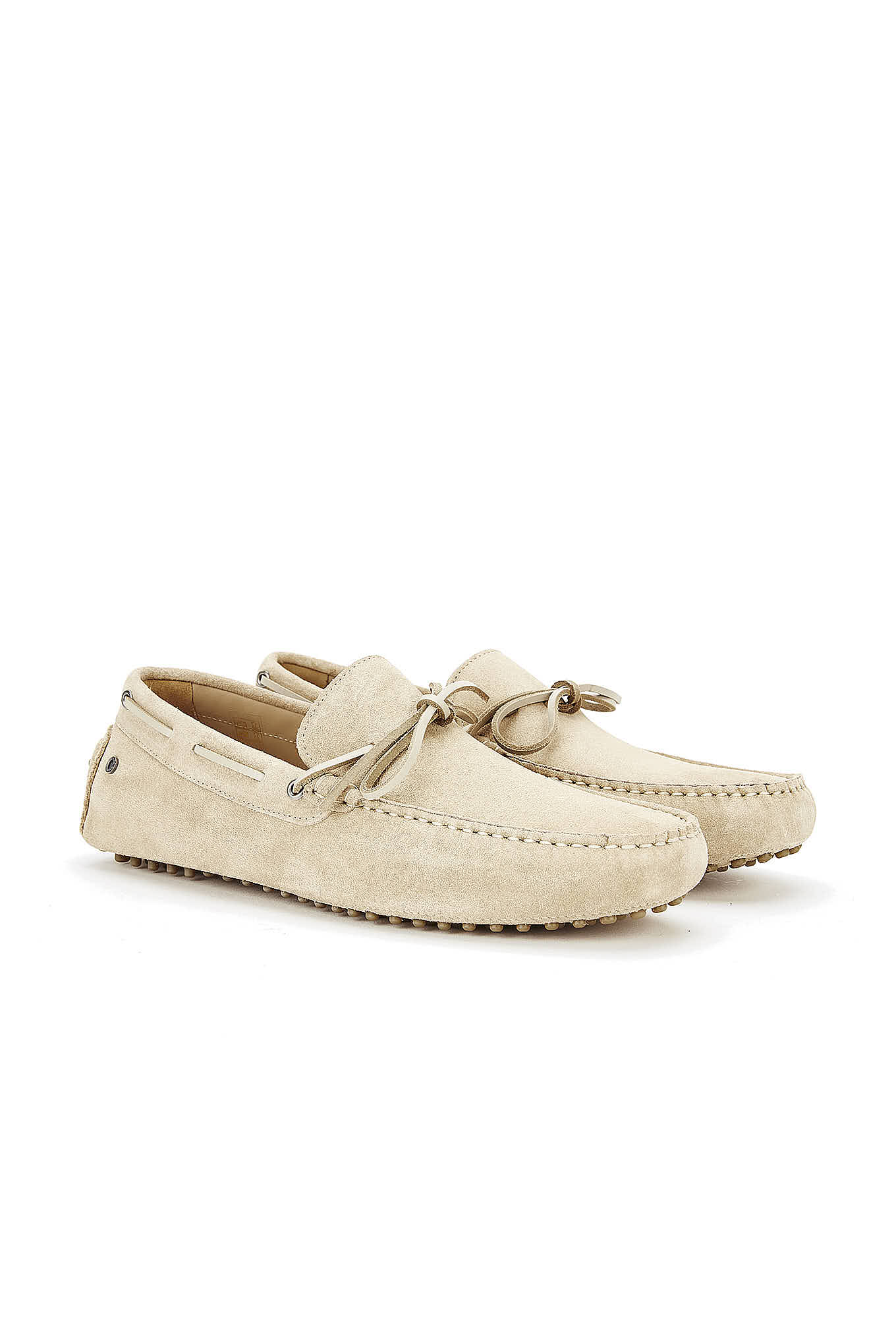 Drivers Light Beige Casual Man
