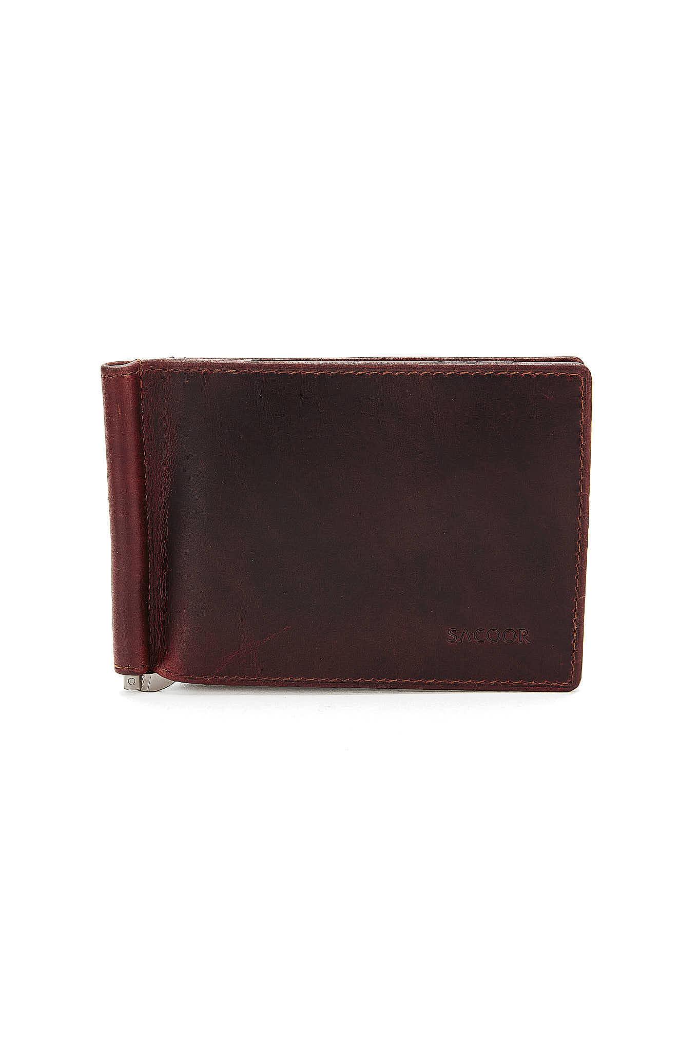 Wallet Cognac Casual Man
