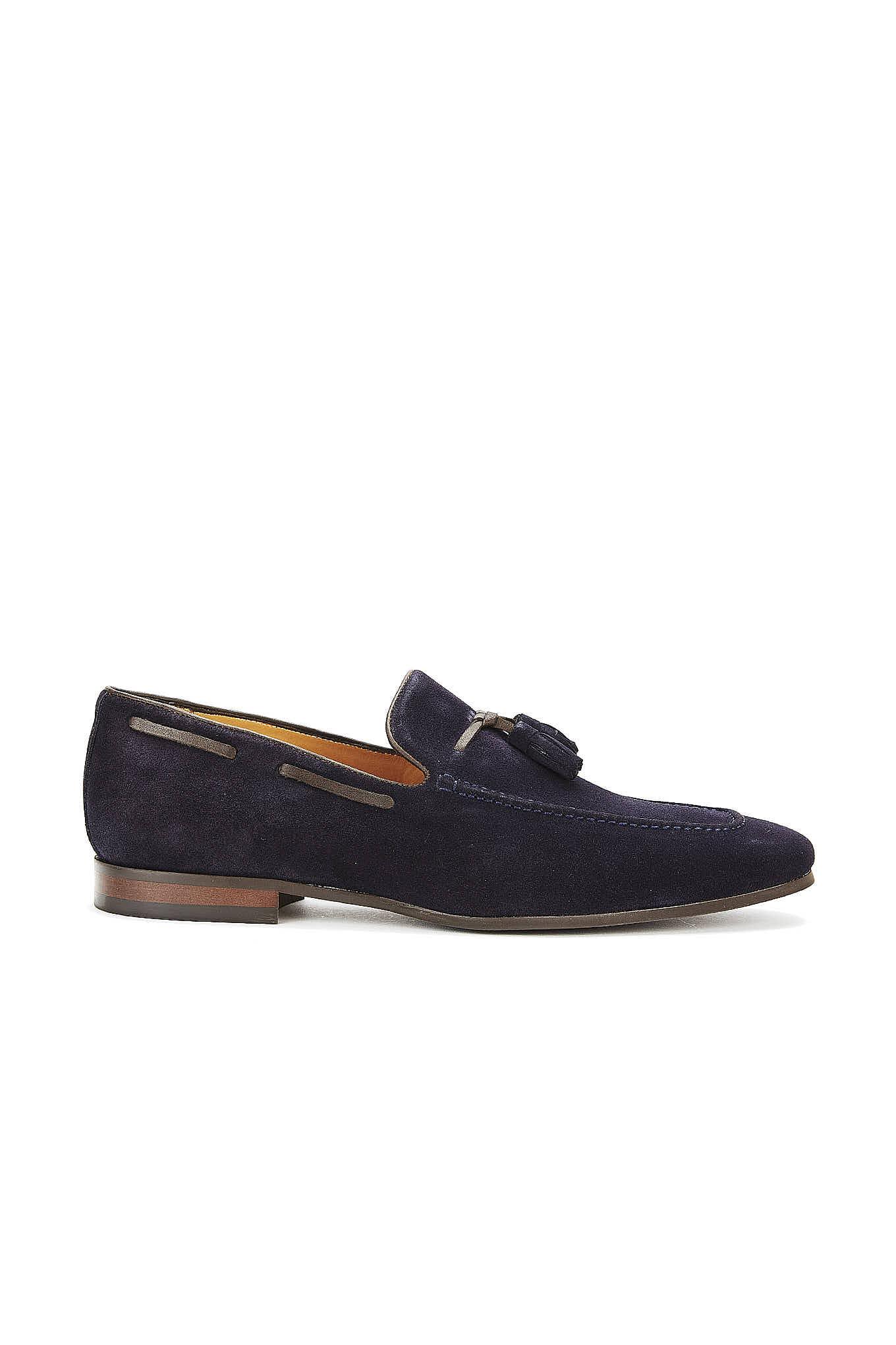 Sapatos Azul Escuro Casual Homem