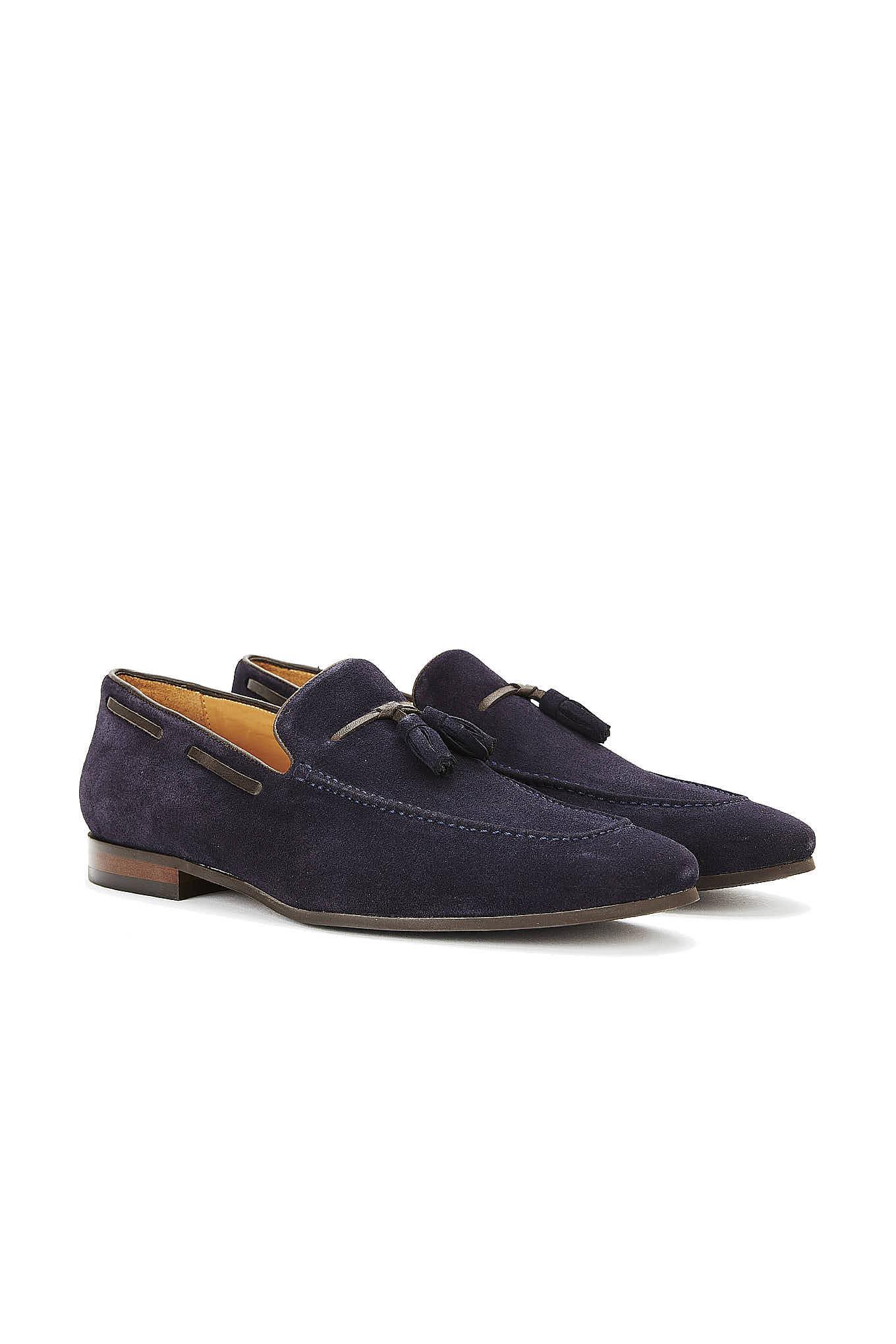 Shoes Dark Blue Casual Man