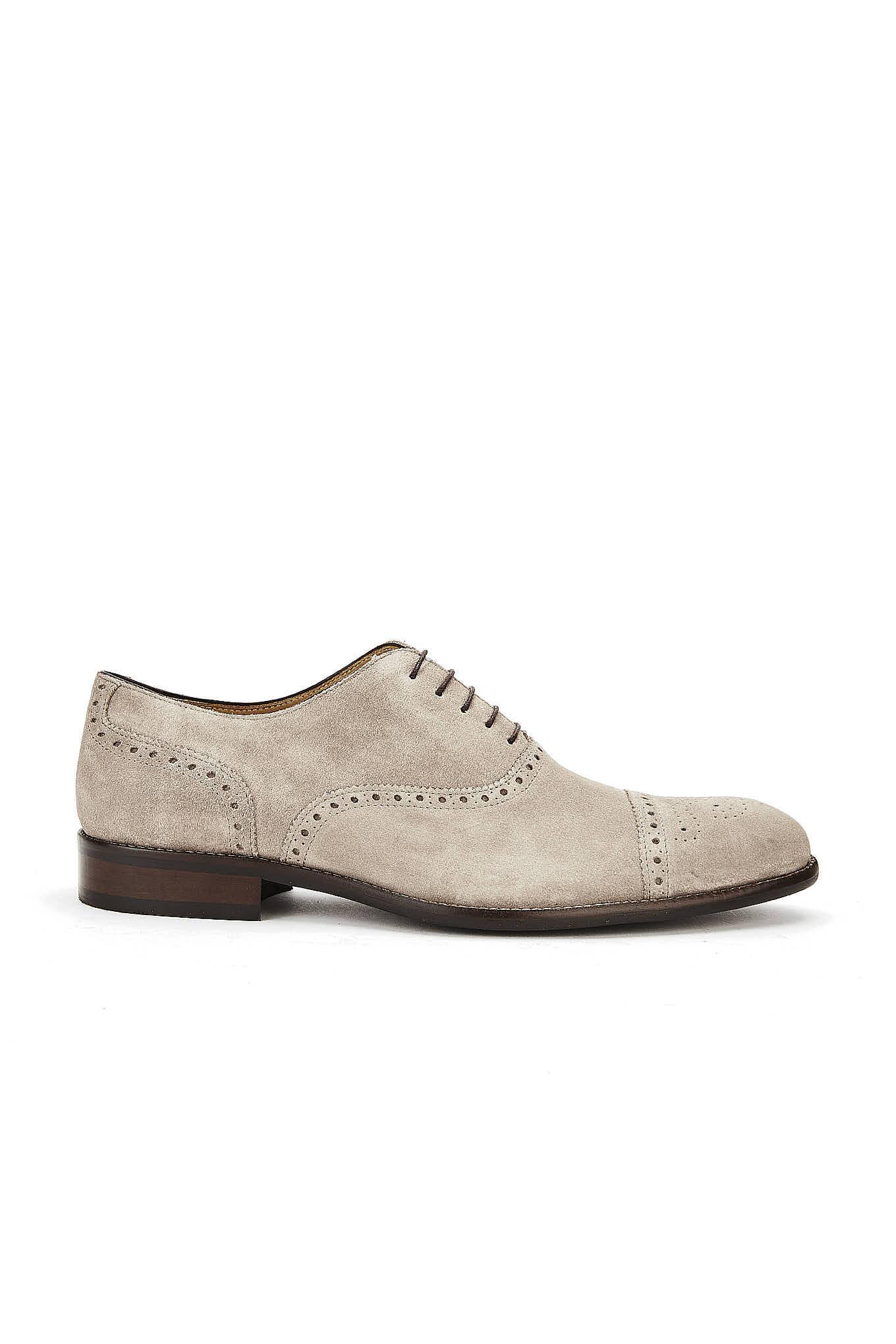 Sapatos Cinza Casual Homem
