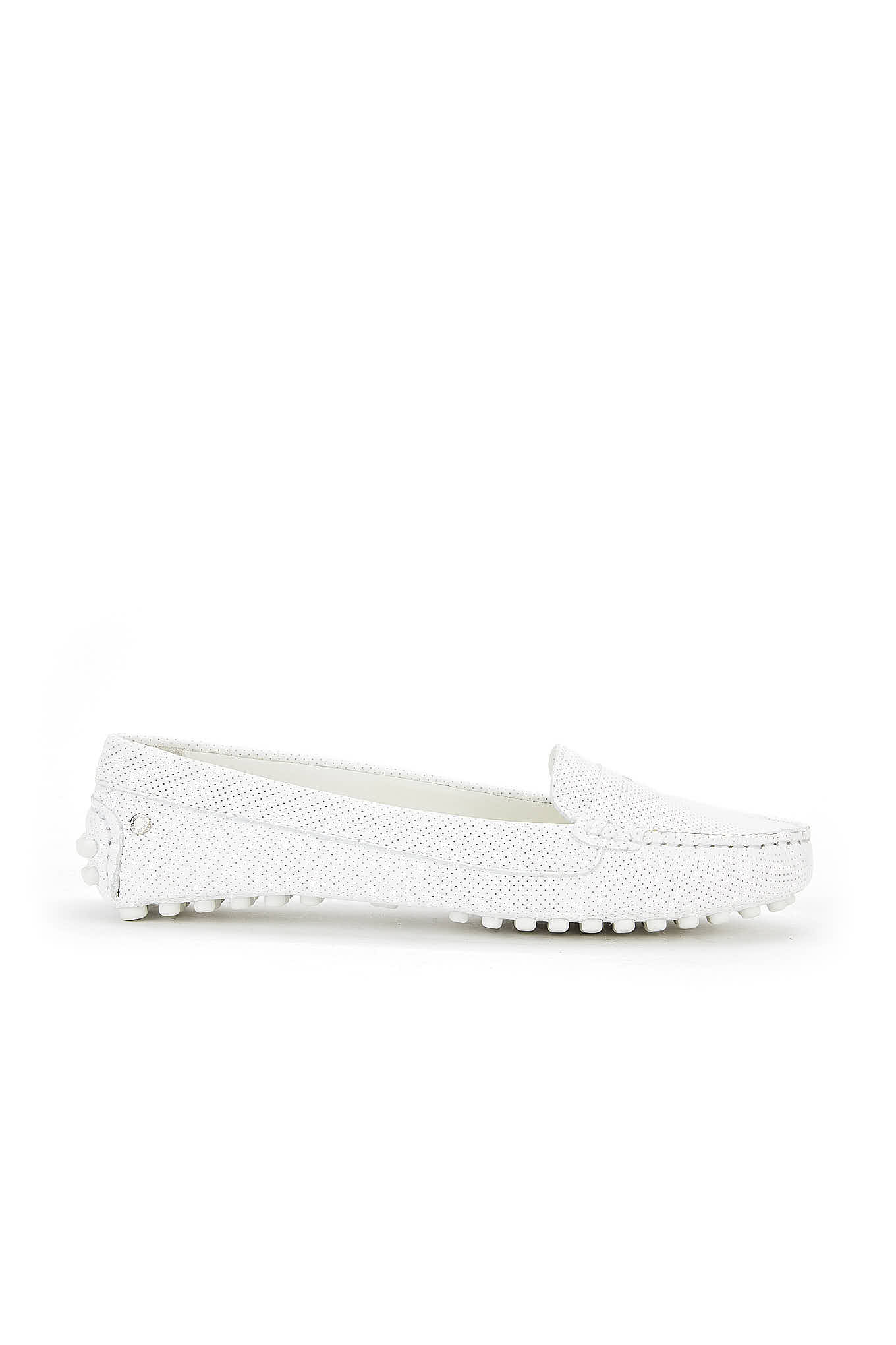 Drivers Branco Casual Mulher