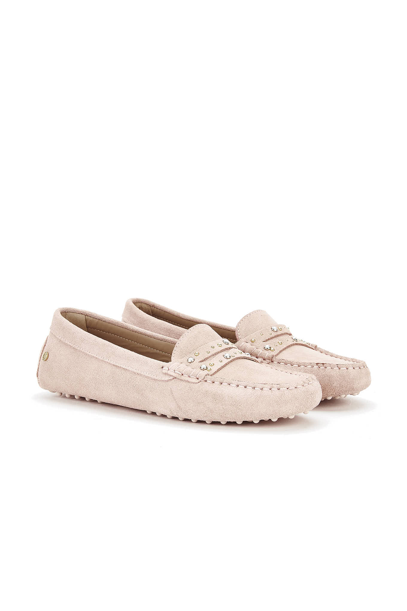 Drivers Pale Pink Casual Woman