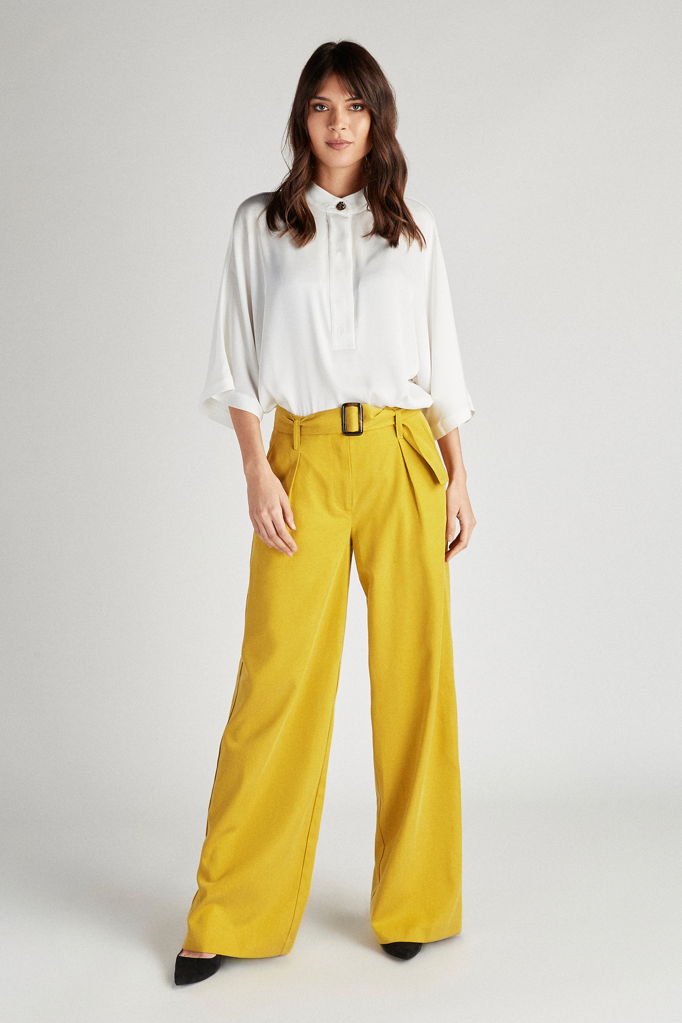 Trousers Yellow Fantasy Woman