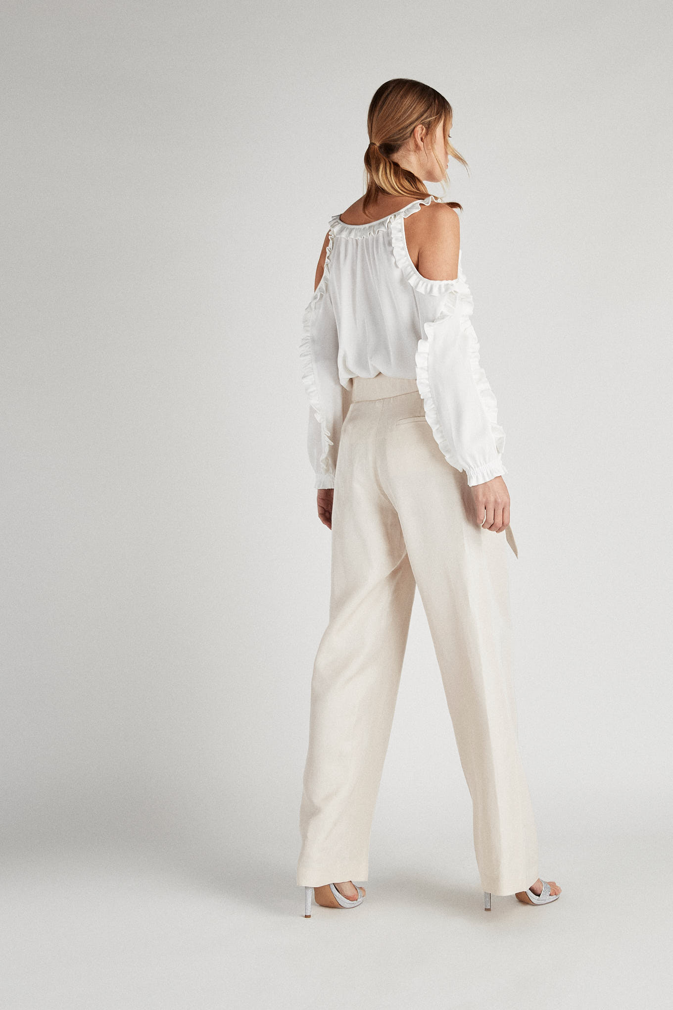 Trousers Beige Fantasy Woman