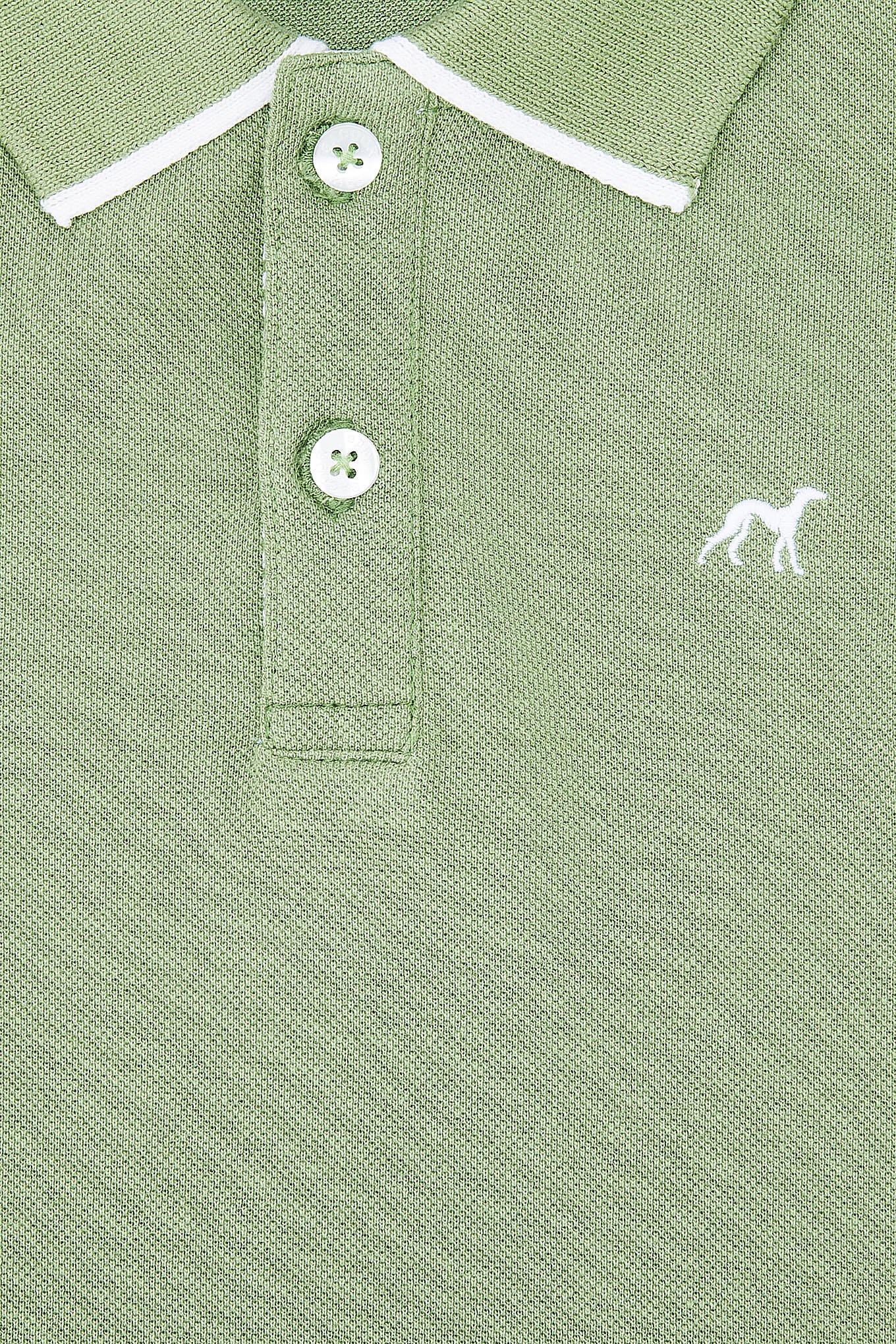 Polo Piquet Green Sport Boy