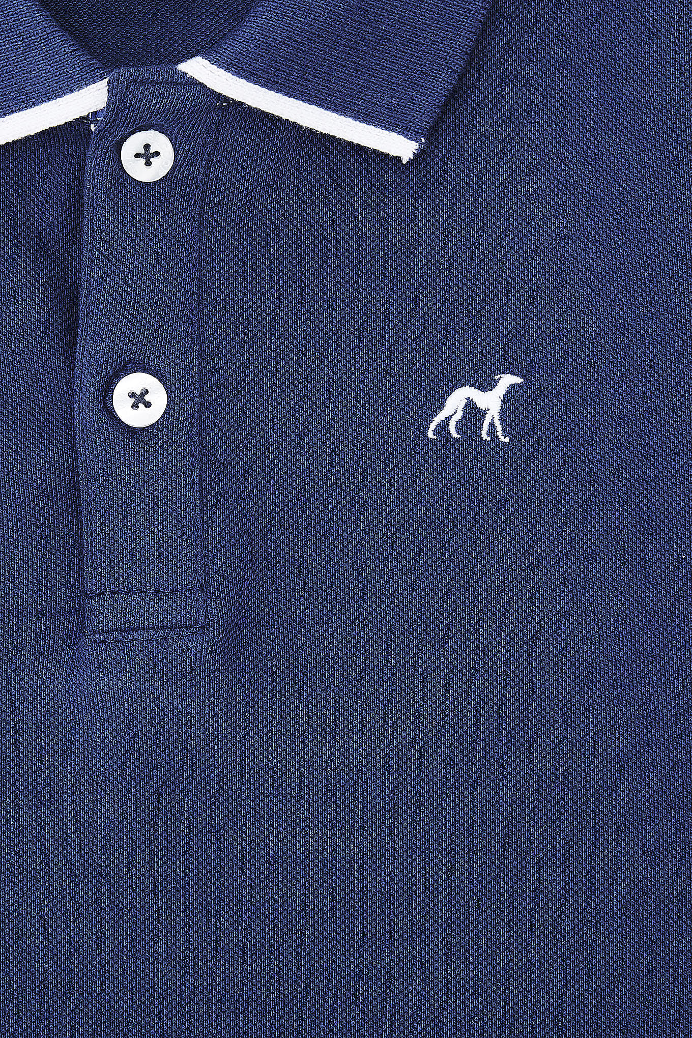 Polo Piquet Medium Blue Sport Boy