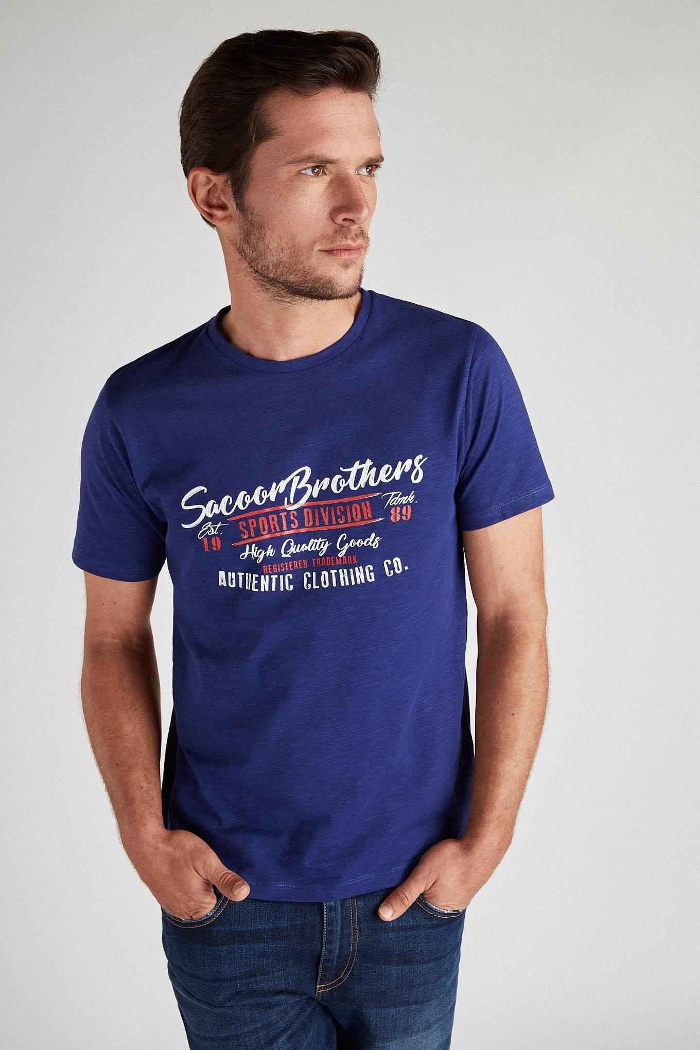 T-Shirt Royal Blue Sport Man