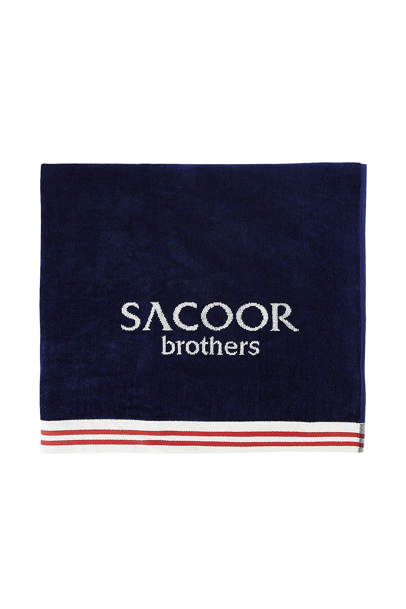 Beach Towel Dark Blue Casual Man