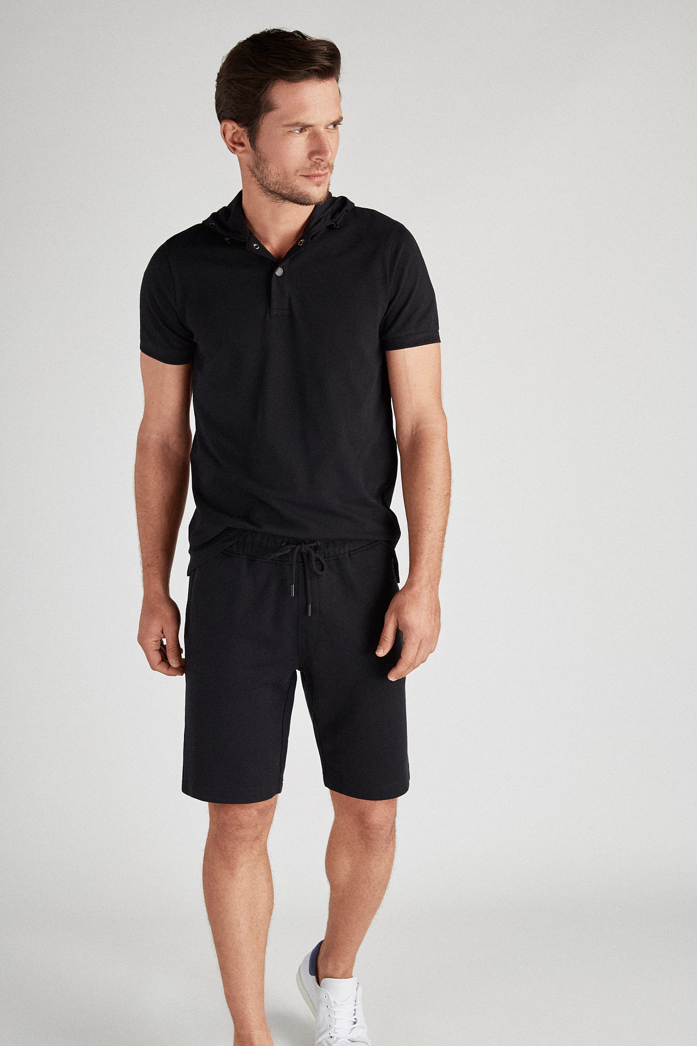 Sportswear Shorts Black Sport Man