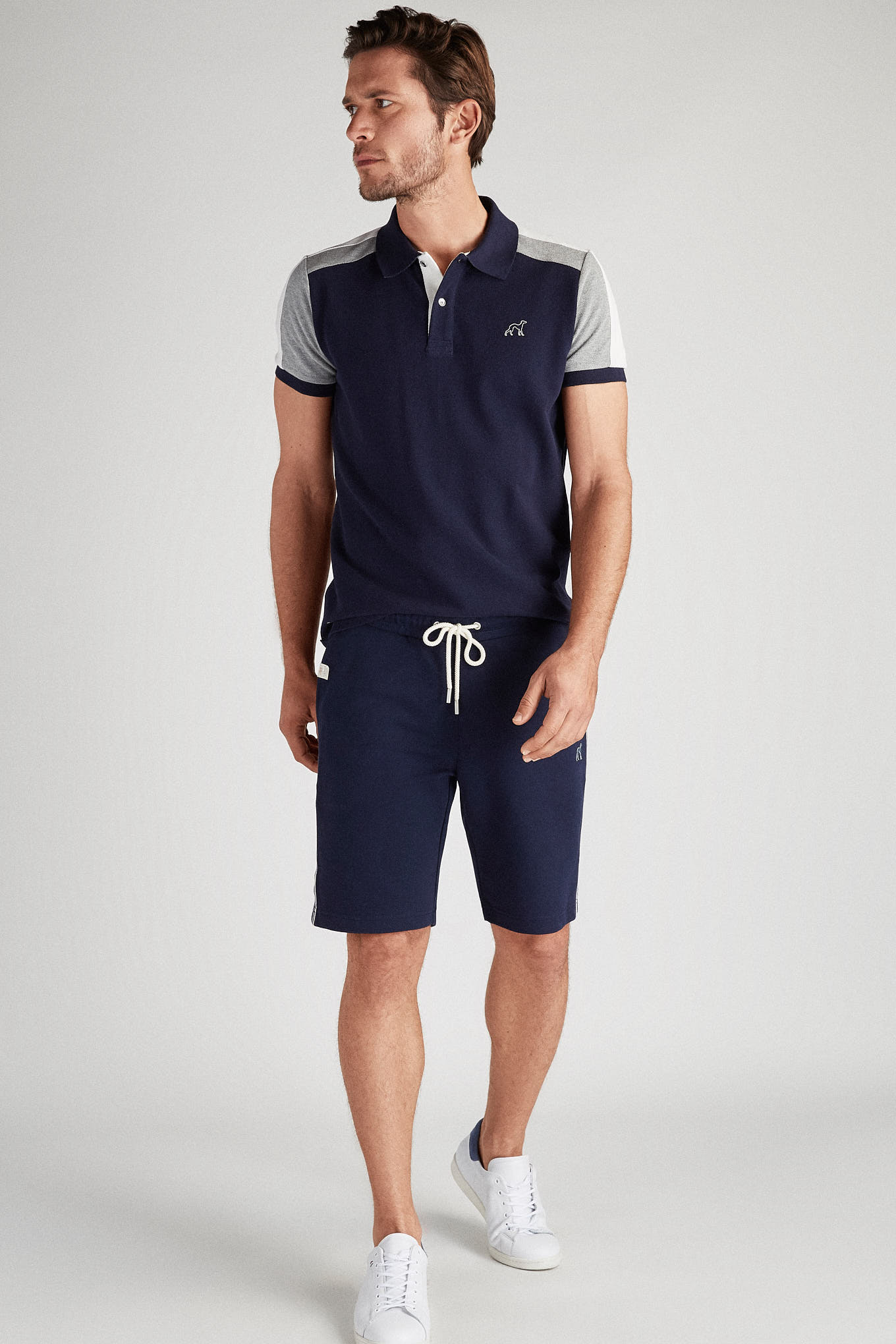 Sportswear Shorts Dark Blue Sport Man