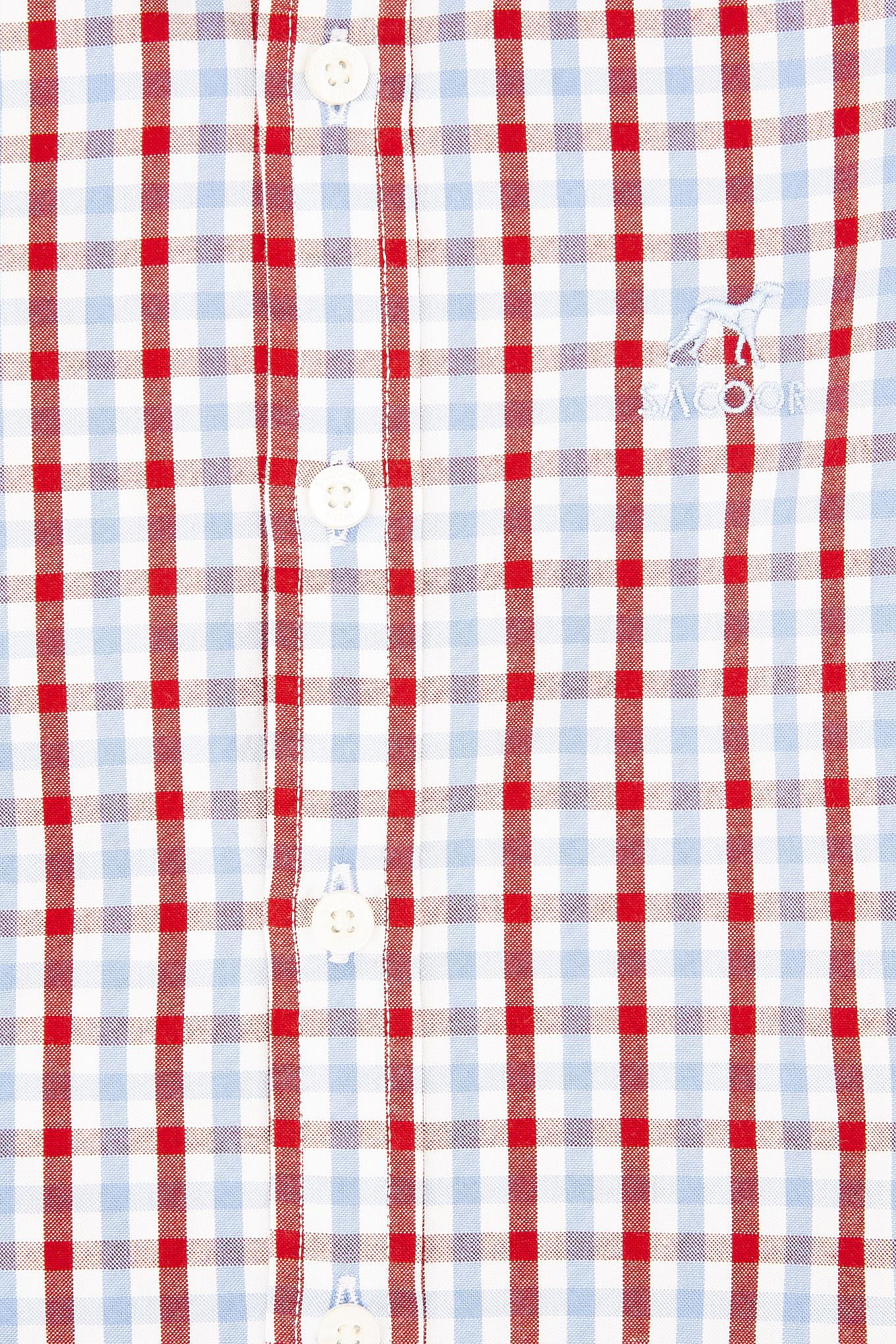 Camisa Vermelho Casual Rapaz
