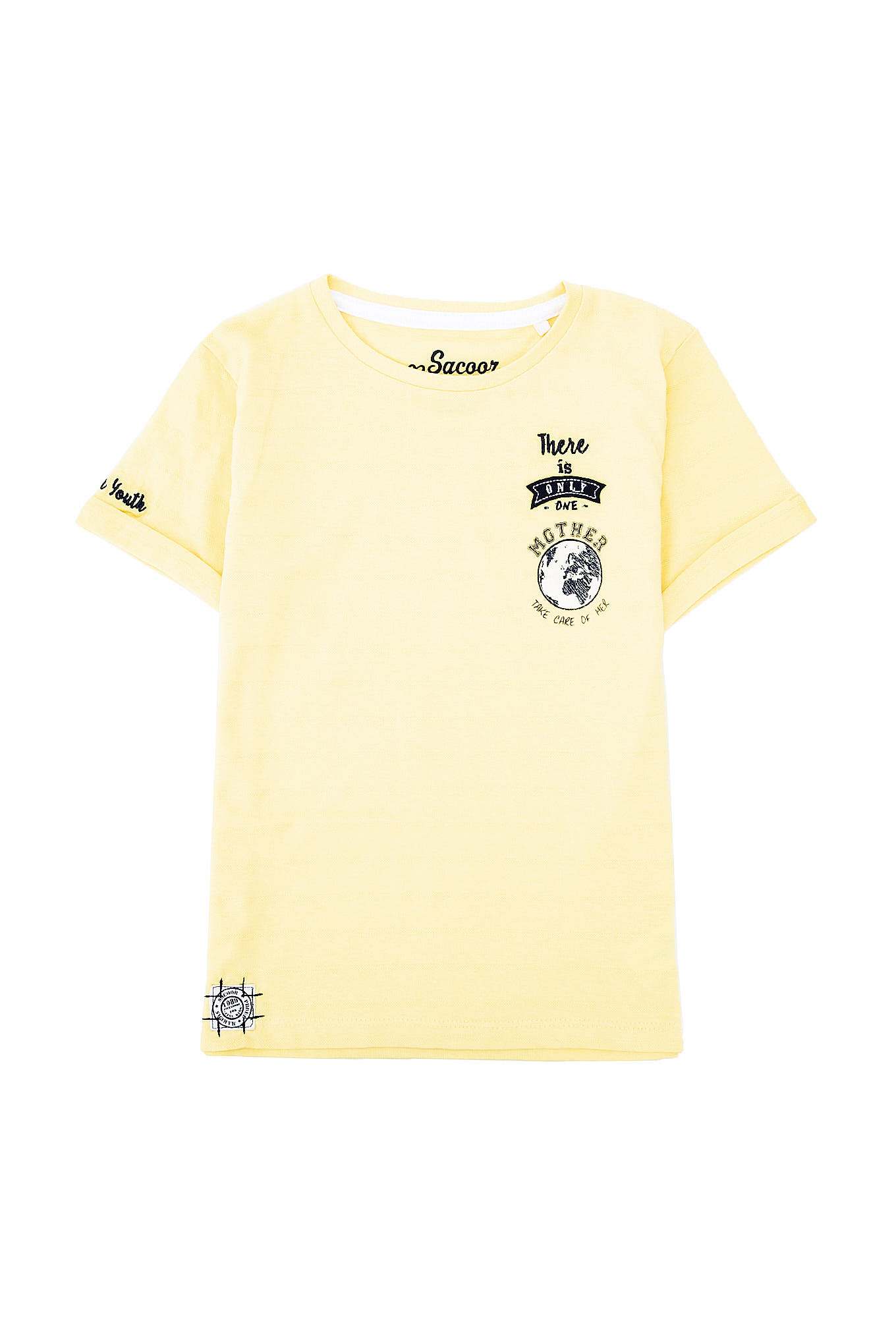 T-Shirt Yellow Sport Boy