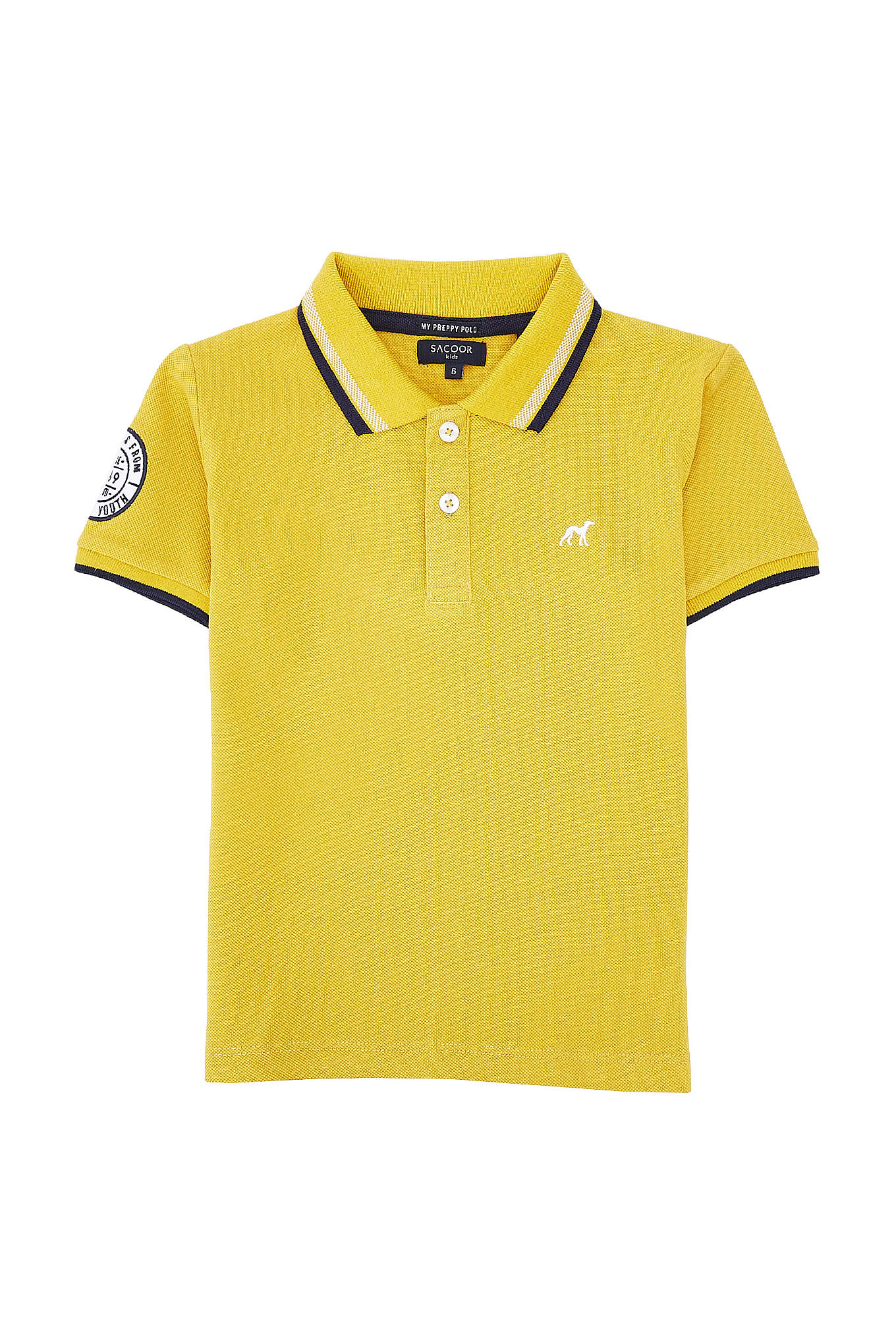 Polo Piquet Yellow Sport Boy