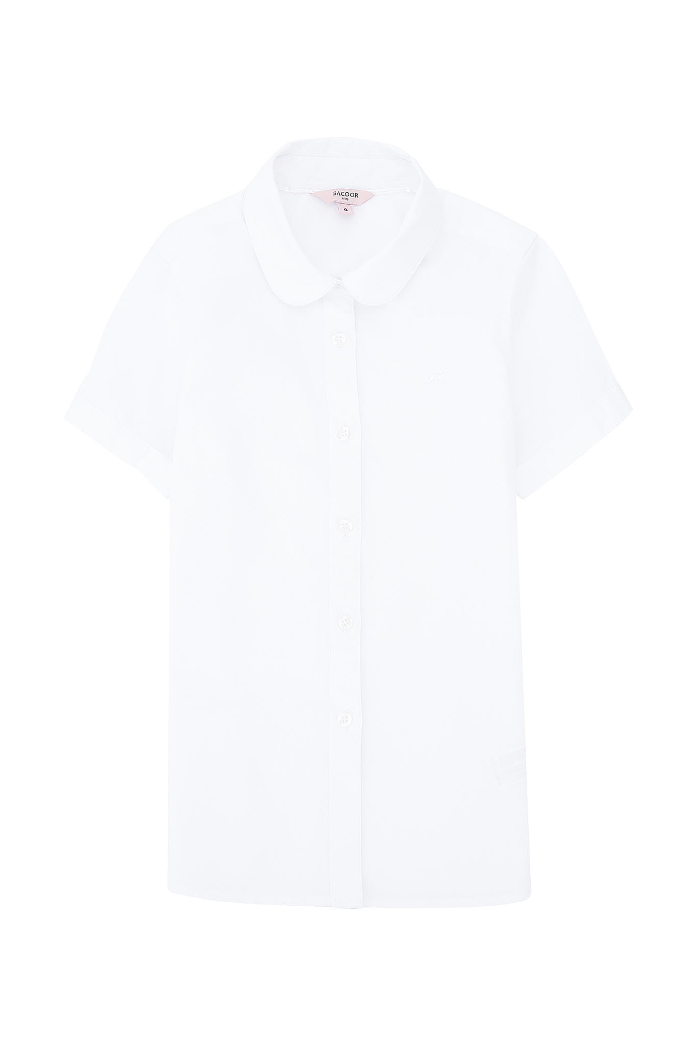 Shirt White Casual Girl