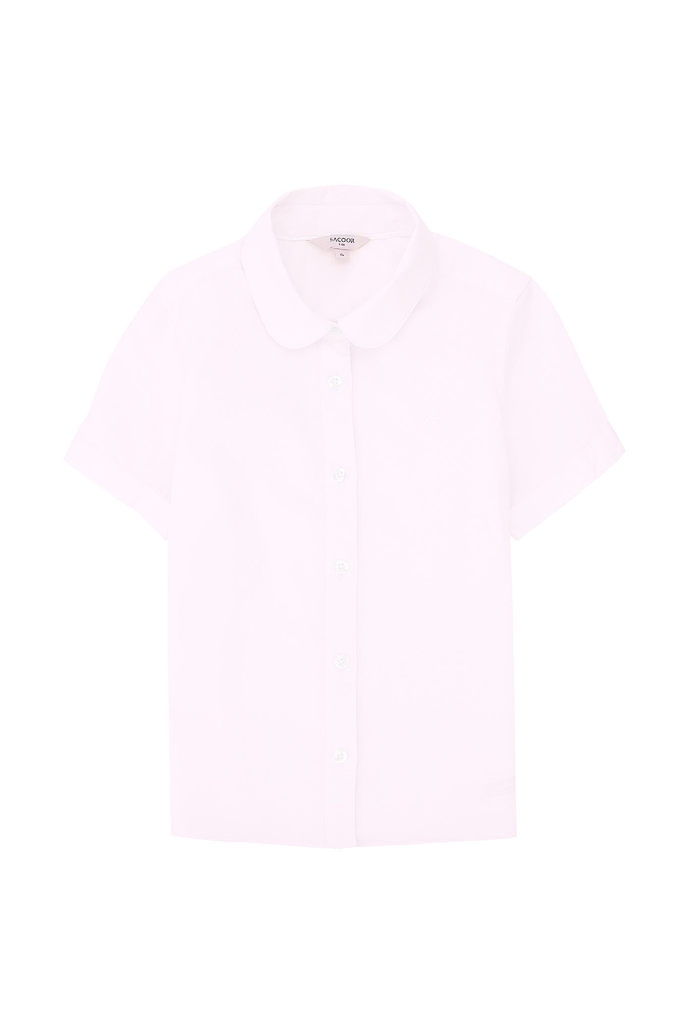 Shirt Light Pink Casual Girl