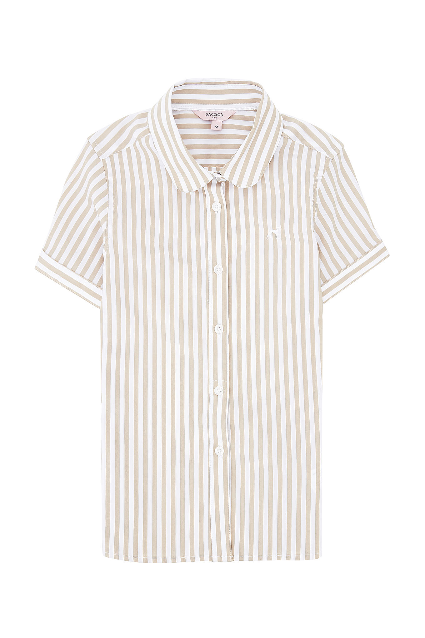 Shirt Stripes Casual Girl