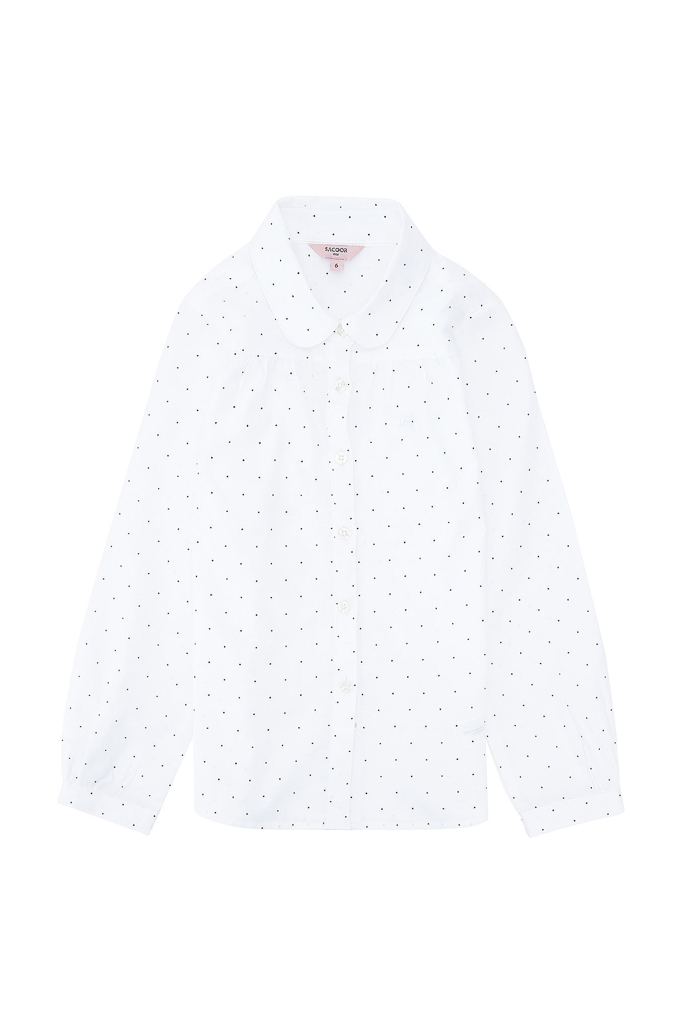 Shirt Dots Casual Girl