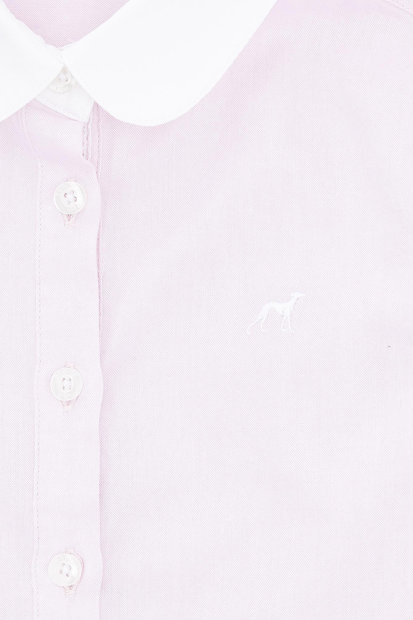Shirt Dress Light Pink Casual Girl