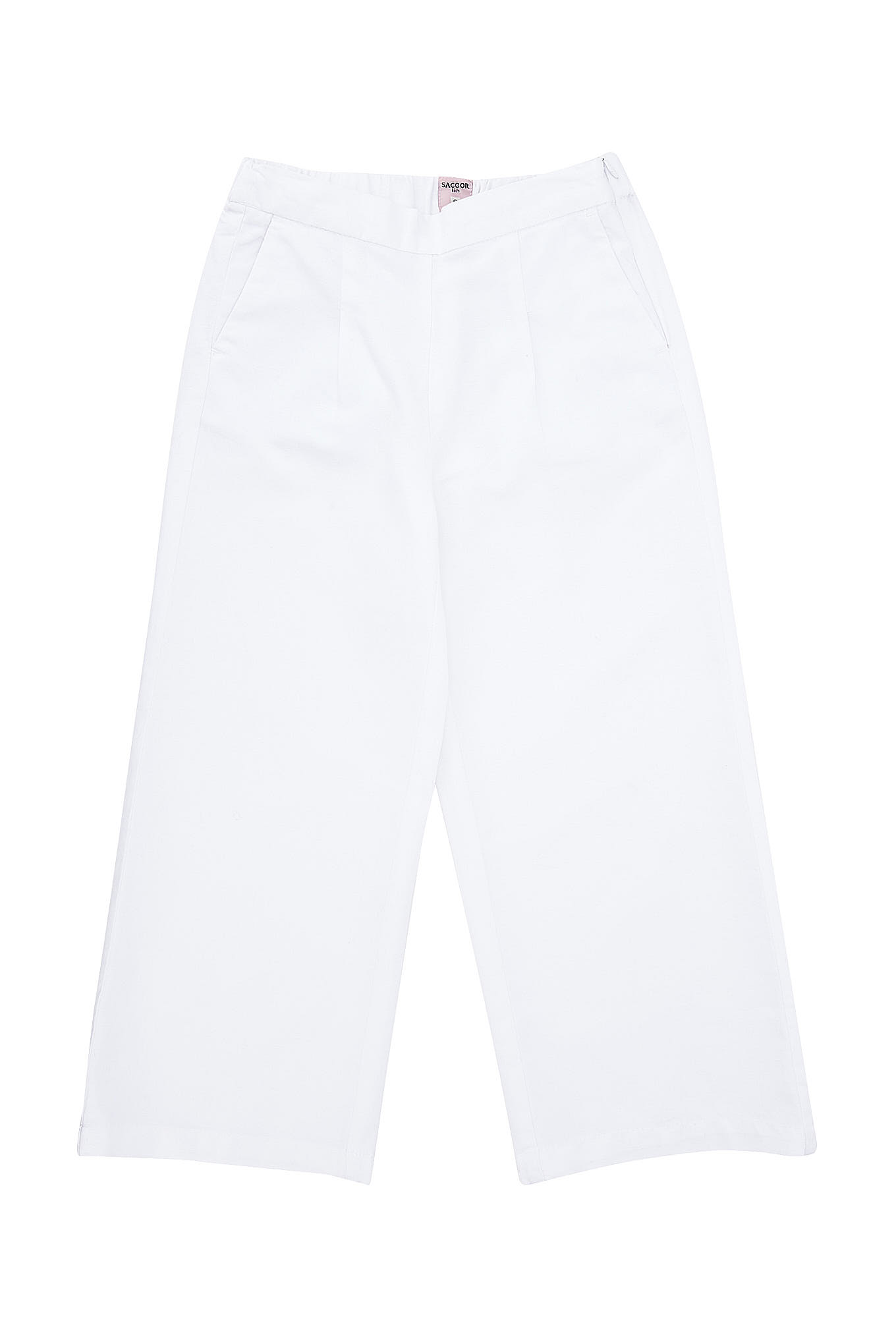 Chino Trousers White Sport Girl