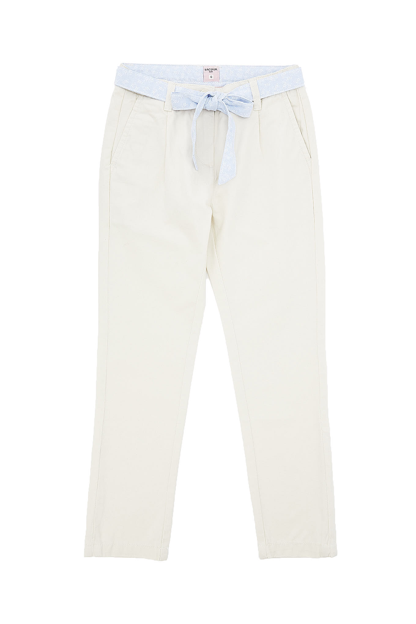 Chino Trousers Ecru Sport Girl