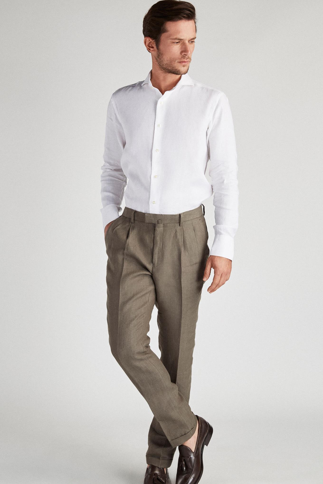 Calças Khaki Classic Homem