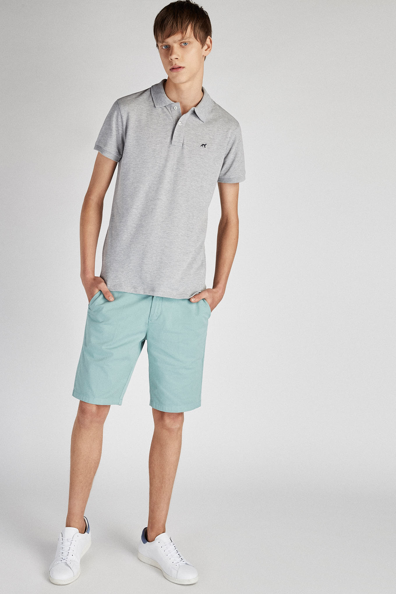 Bermuda Mint Casual Man