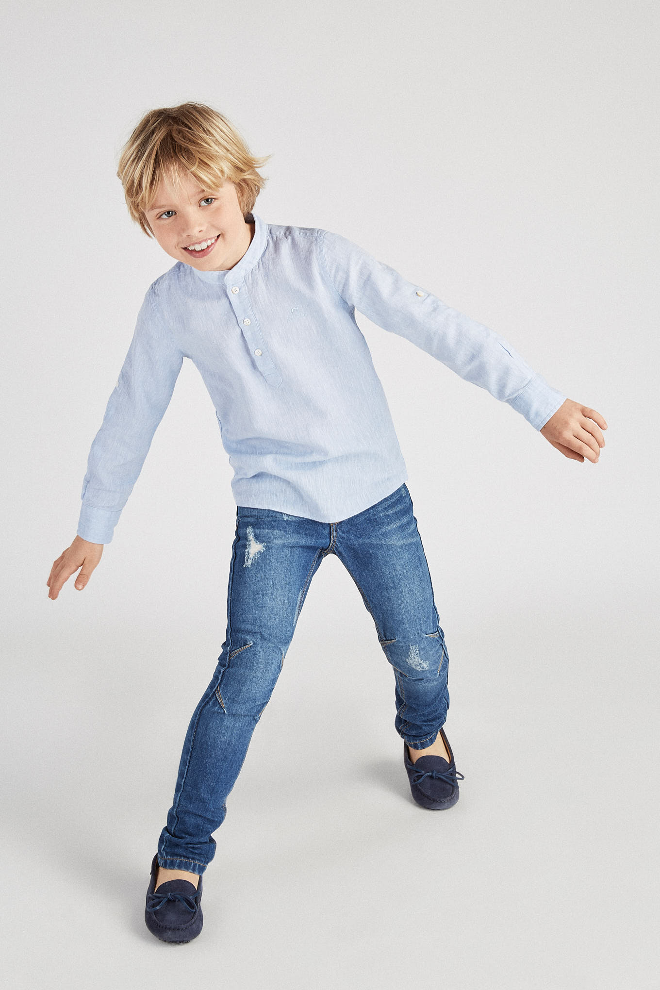 Jeans Light Blue Casual Boy