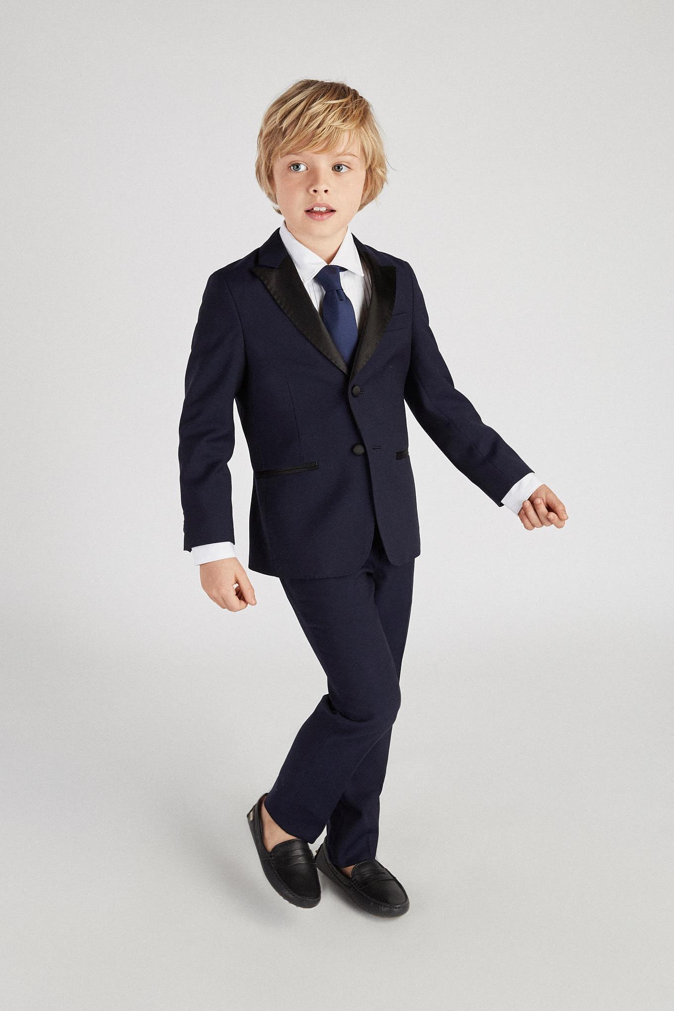 Tuxedo Azul Escuro Classic Rapaz