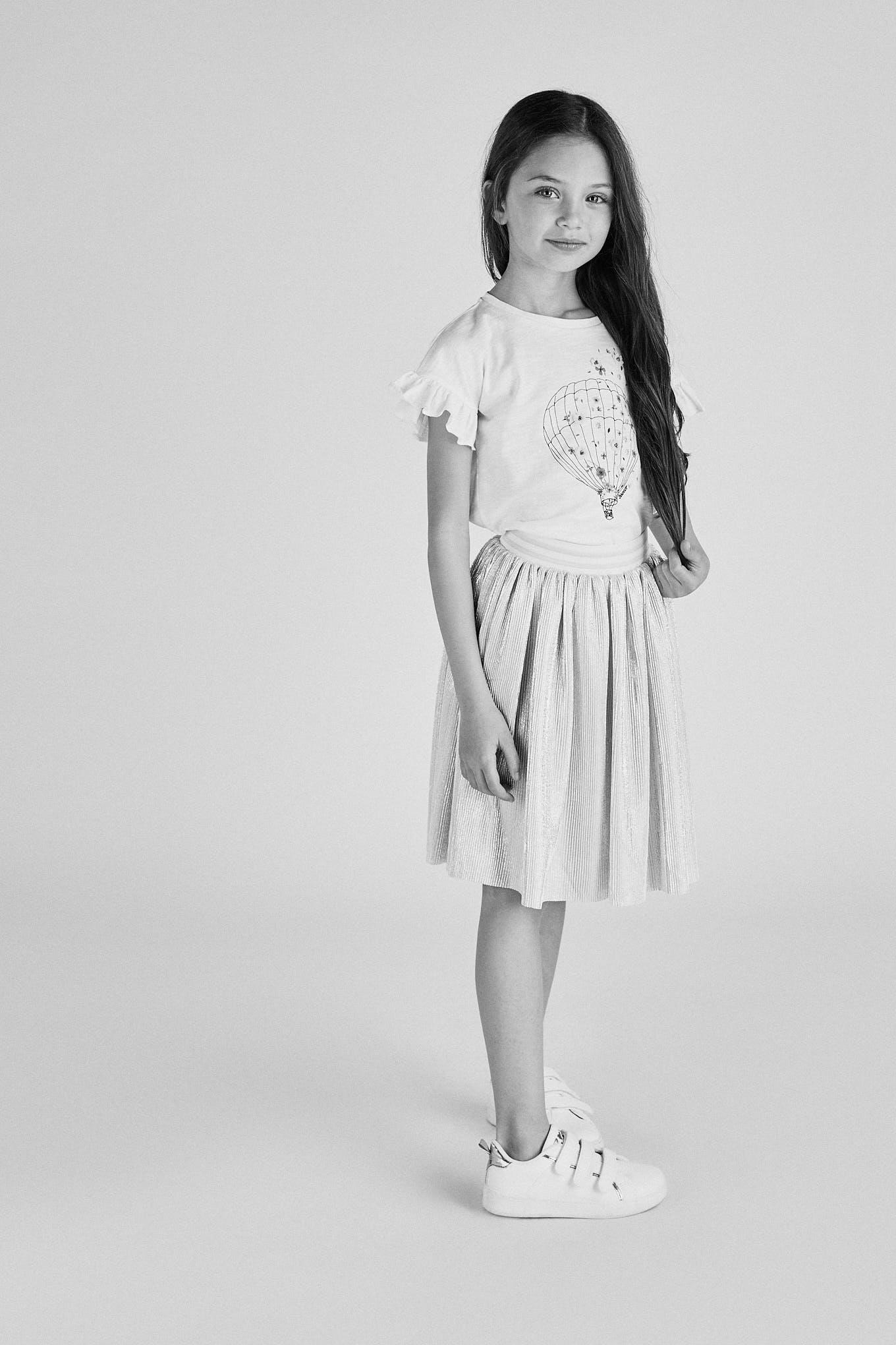 Skirt Silver Fantasy Girl