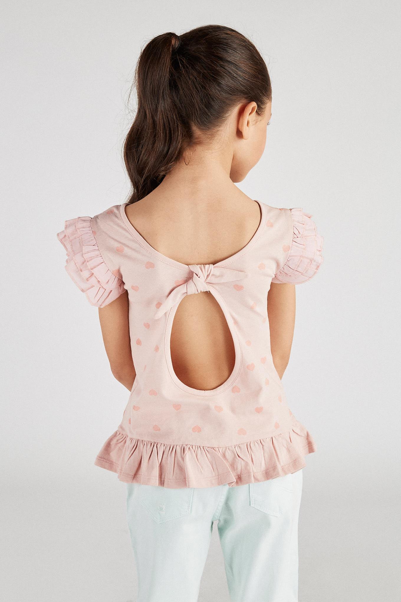 T-Shirt Pink Sport Girl