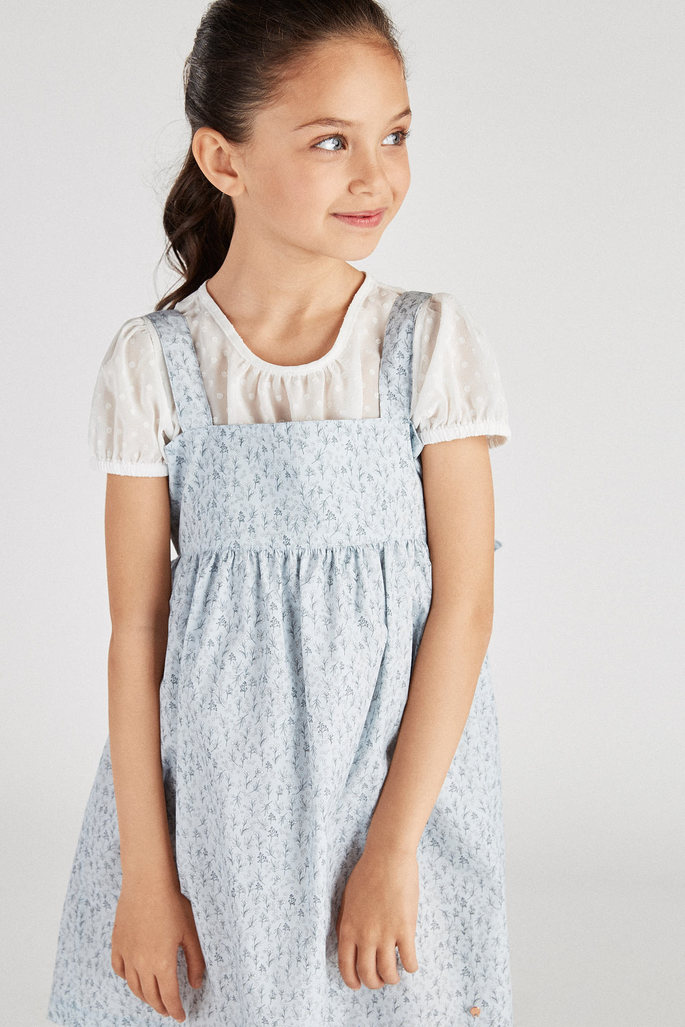 Dress Light Blue Fantasy Girl