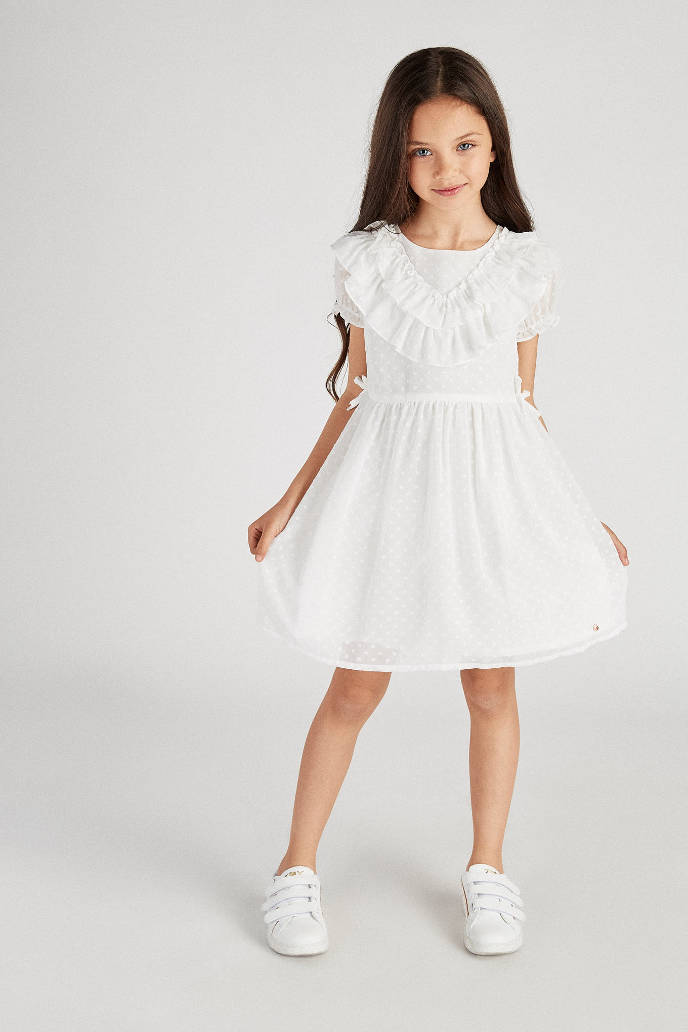 Dress White Fantasy Girl