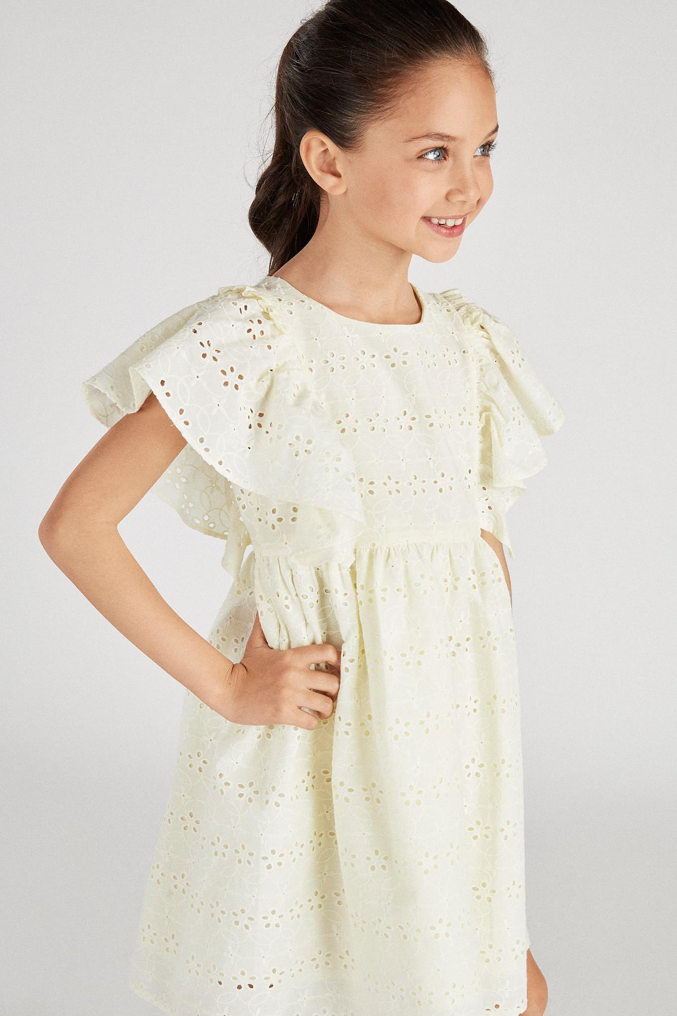 Dress Light Yellow Fantasy Girl