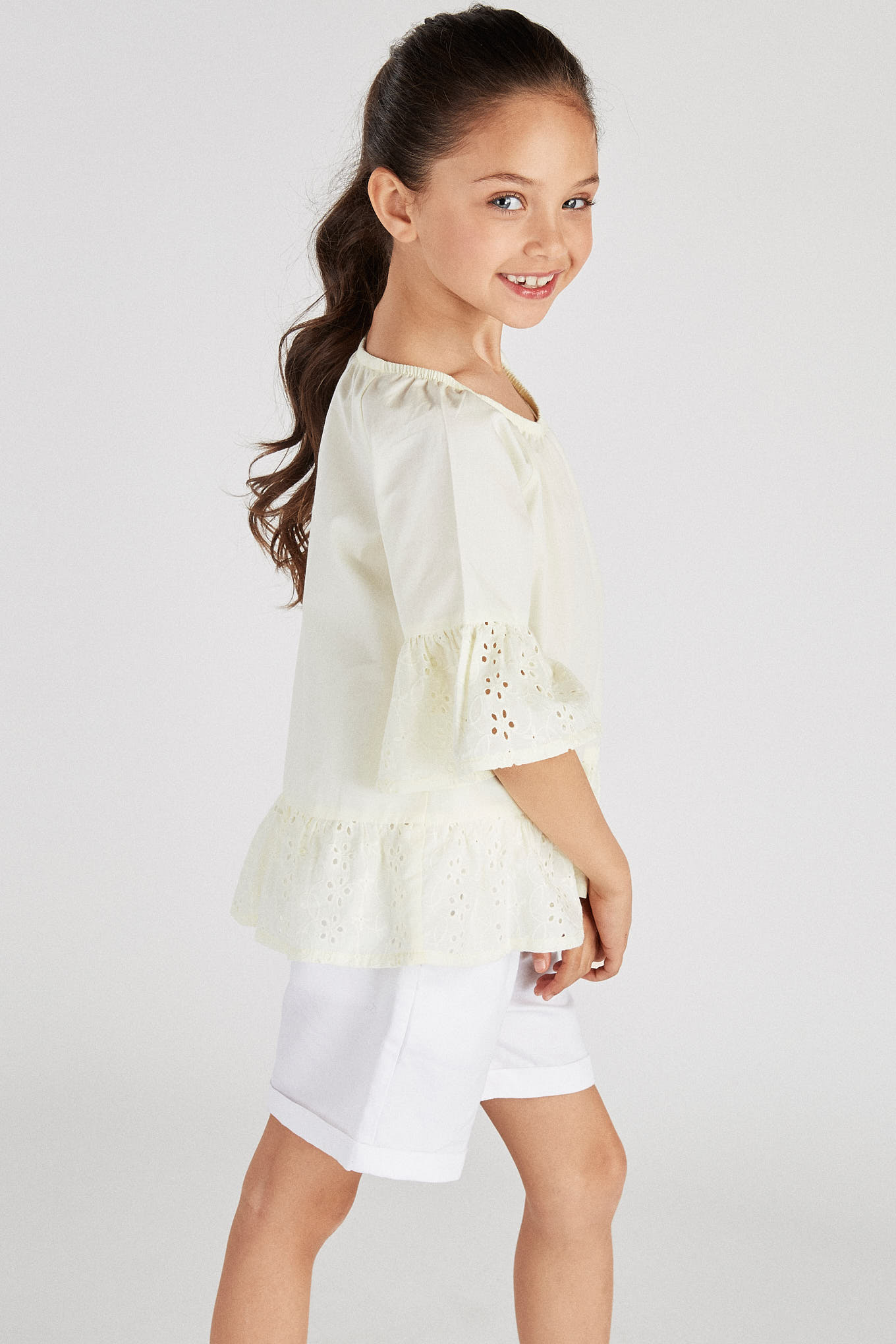 Blouse Light Yellow Fantasy Girl